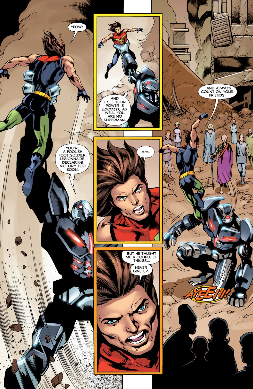 Legion of Super-Heroes (2010) Issue #14 #15 - English 8