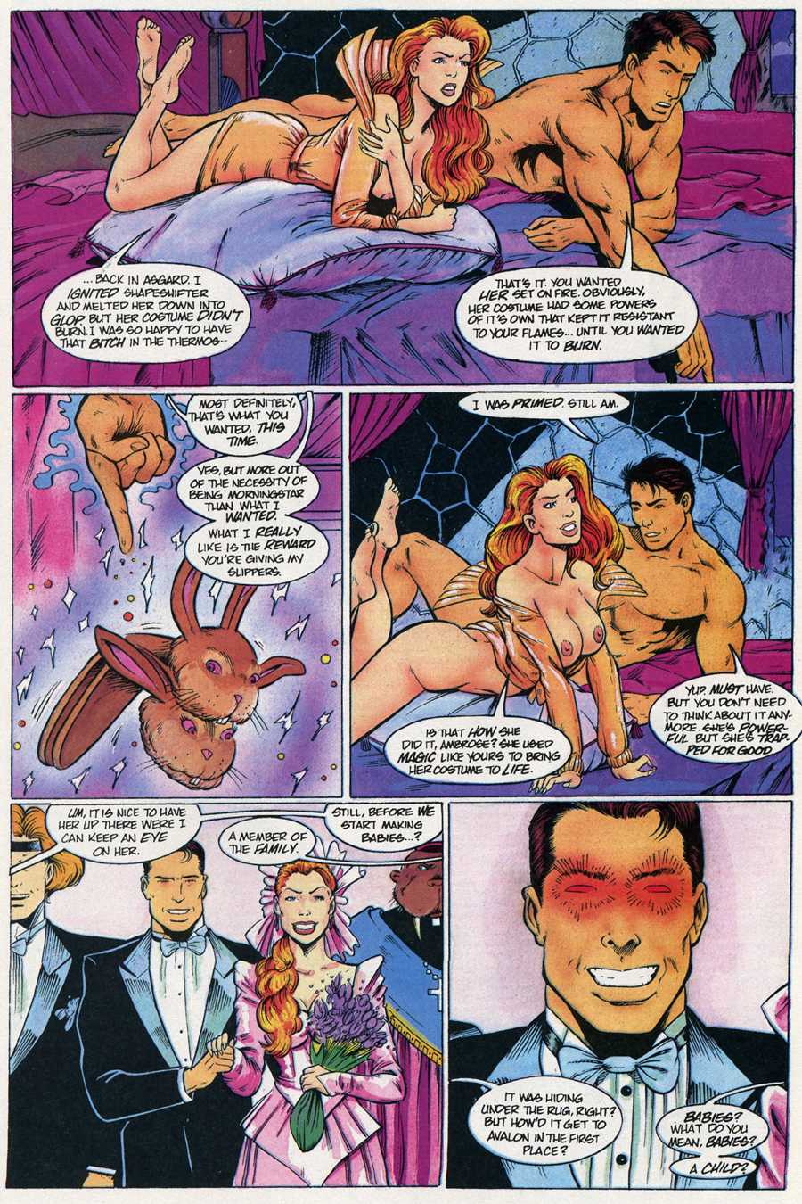 Read online Elementals Sex Special comic -  Issue #4 - 25