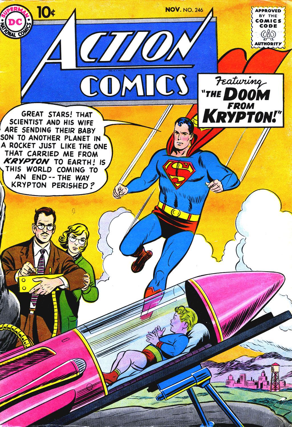 Action Comics (1938) 246 Page 1