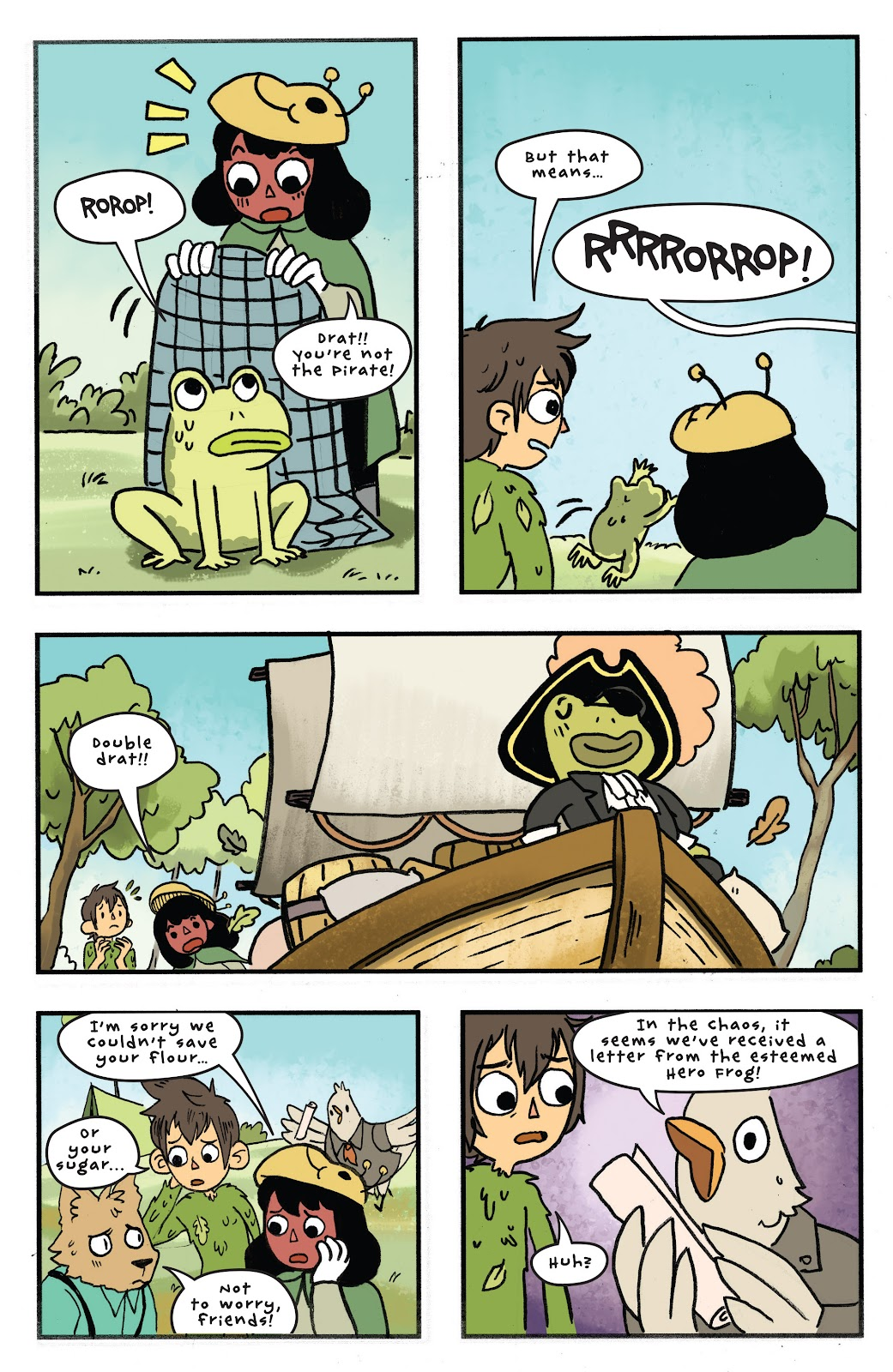 Over the Garden Wall (2016) Issue #11 #11 - English 23