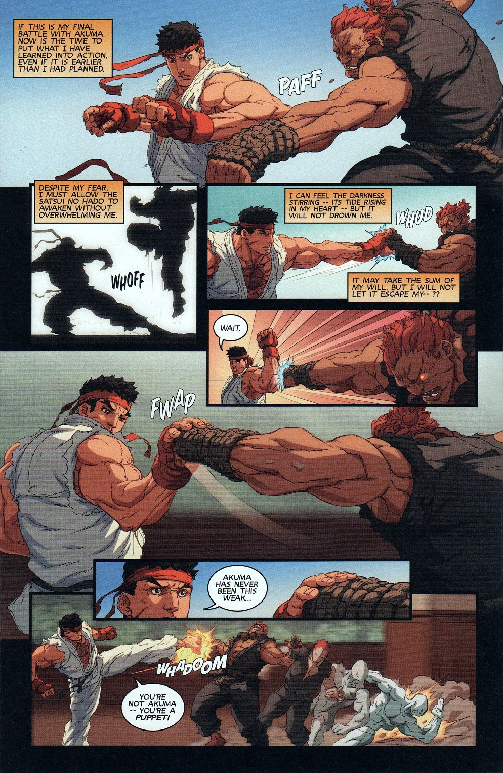 Street Fighter Unlimited Issue #9 #11 - English 18