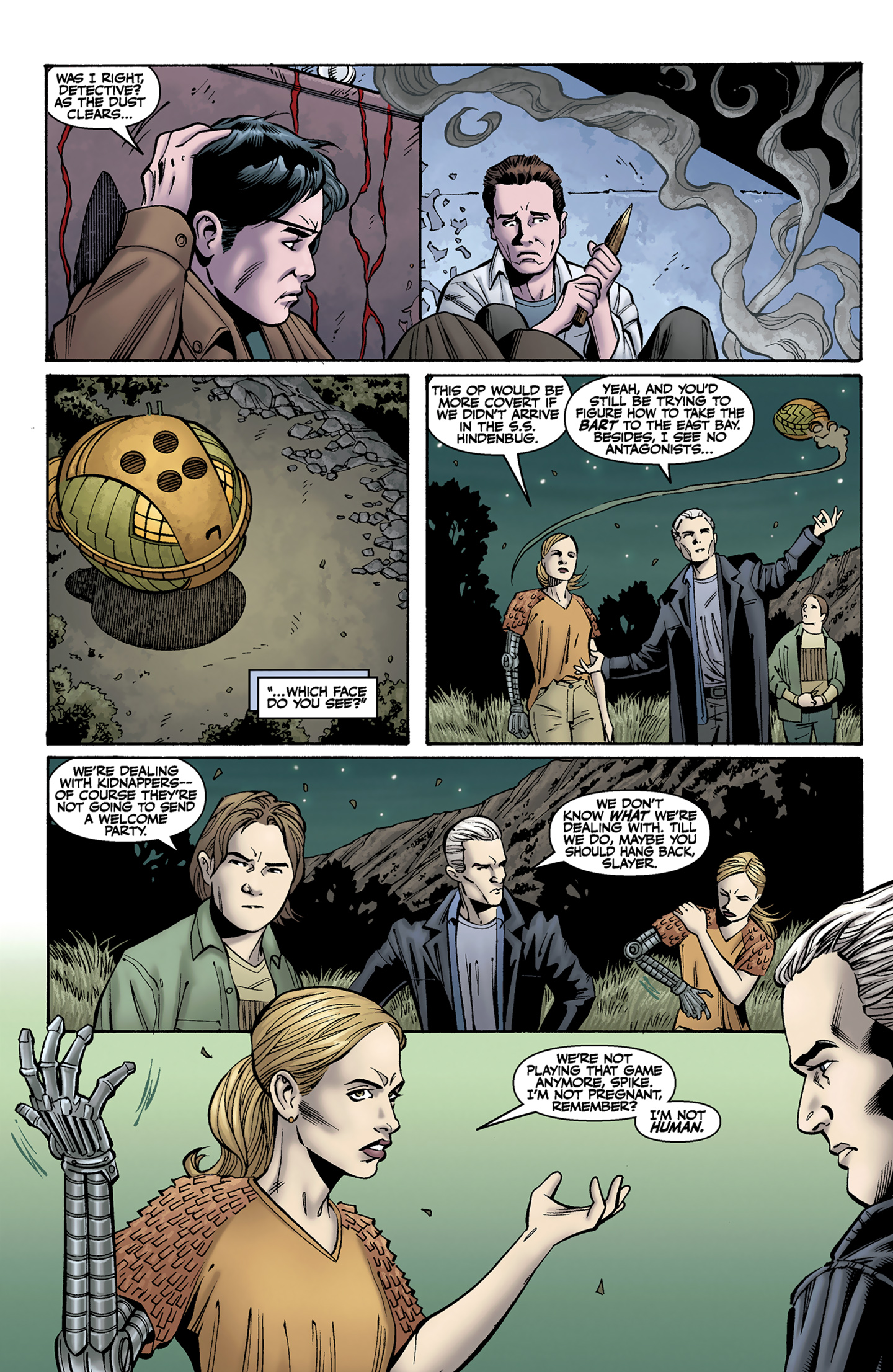Read online Buffy the Vampire Slayer Season Nine comic -  Issue #9 - 20