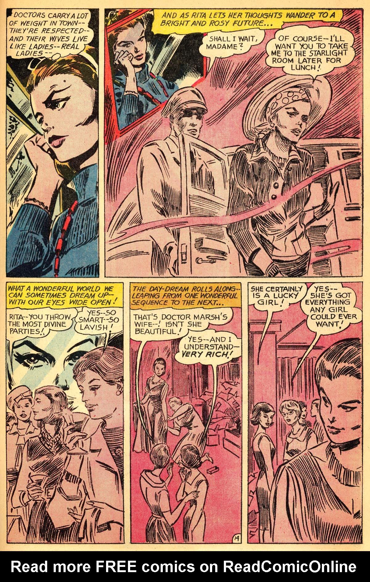 Read online Secret Hearts comic -  Issue #111 - 33