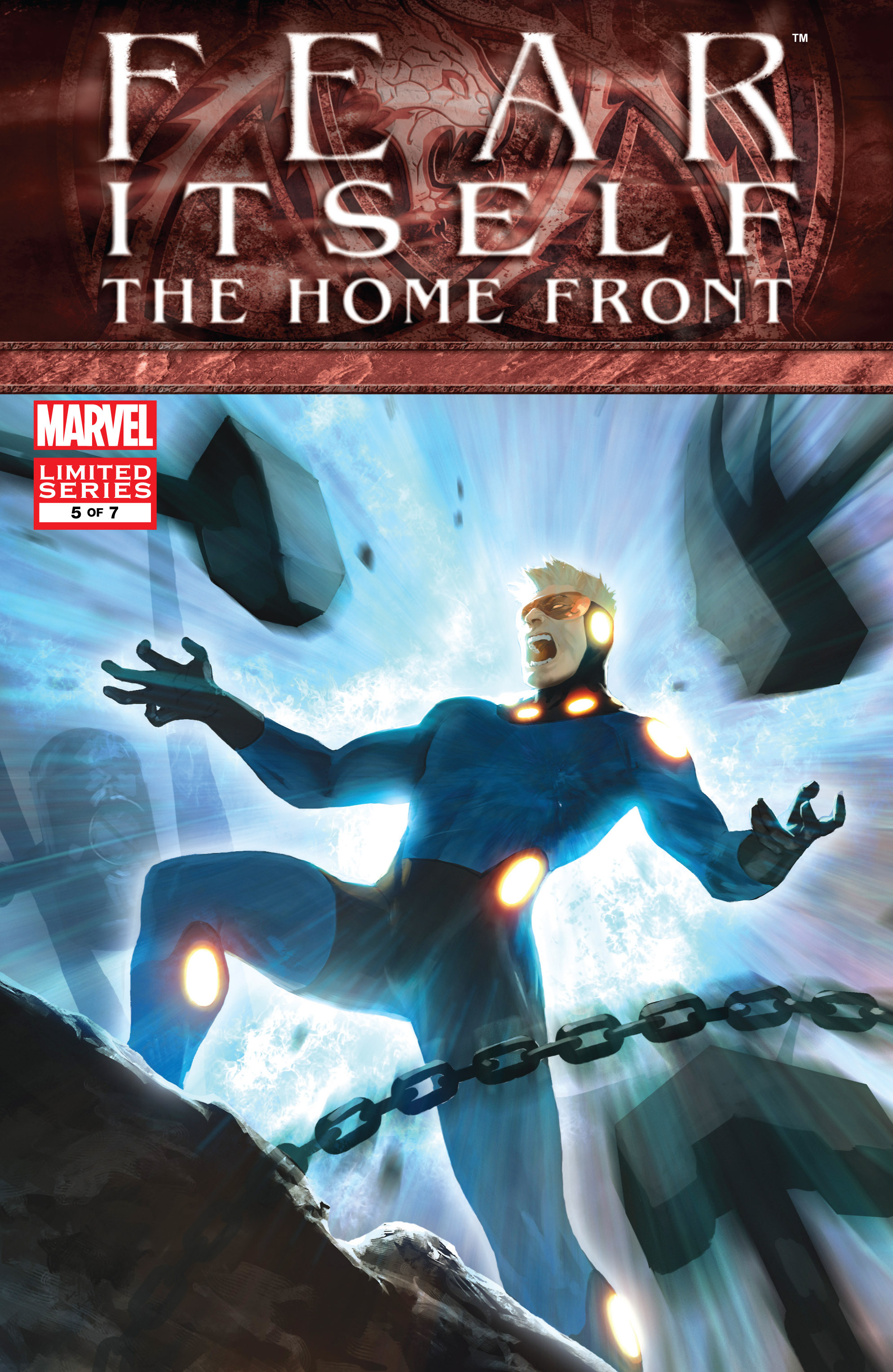 Read online Fear Itself: The Home Front comic -  Issue #5 - 1