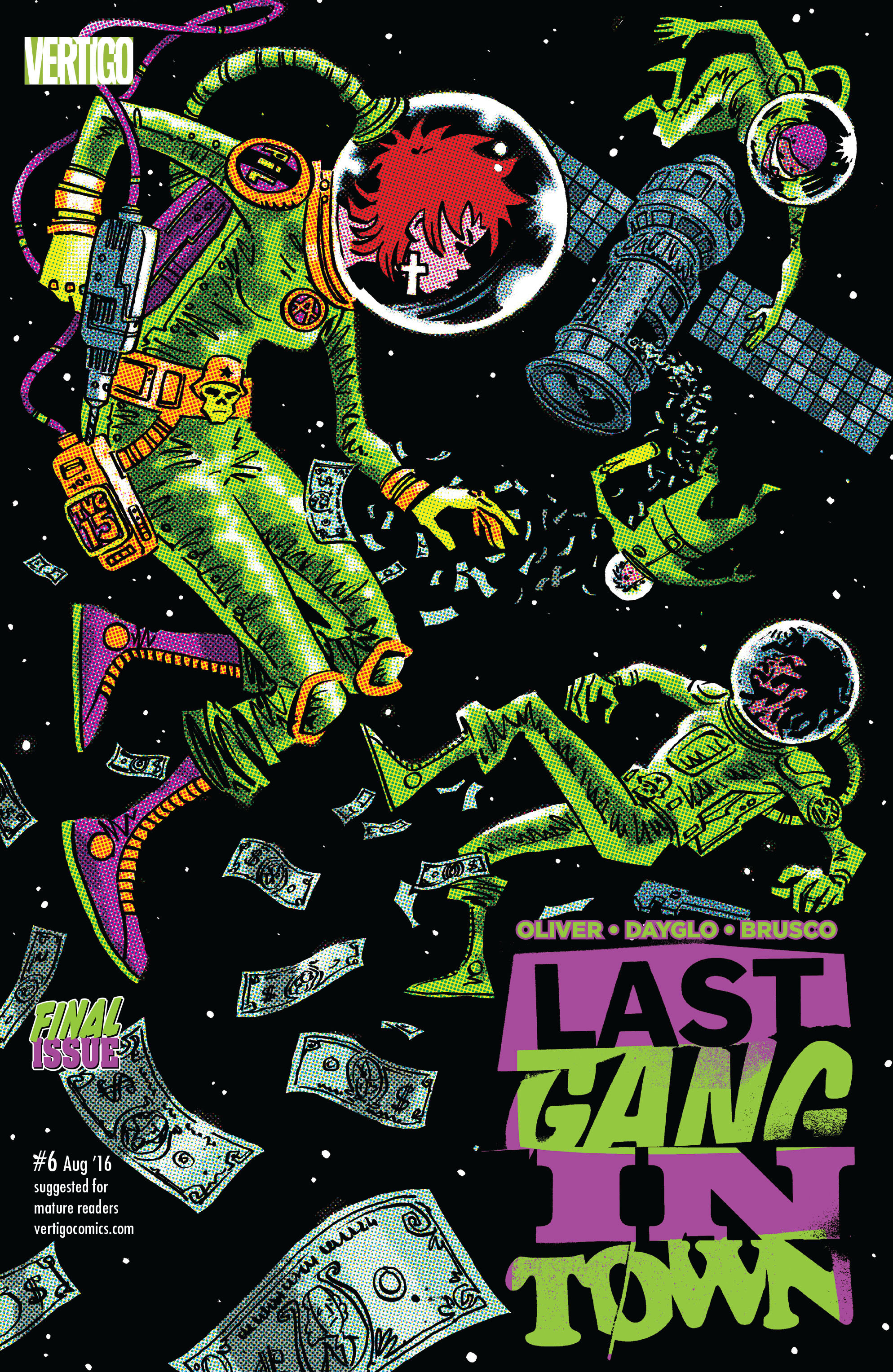 Last Gang in Town (2016) issue 6 - Page 1