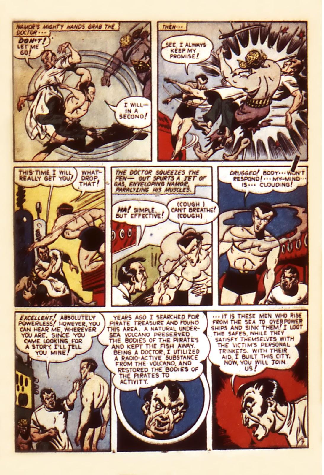 Sub-Mariner Comics Issue #7 #7 - English 9