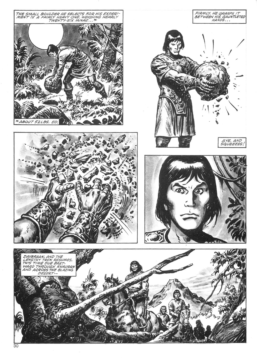 The Savage Sword Of Conan Issue #87 #88 - English 30