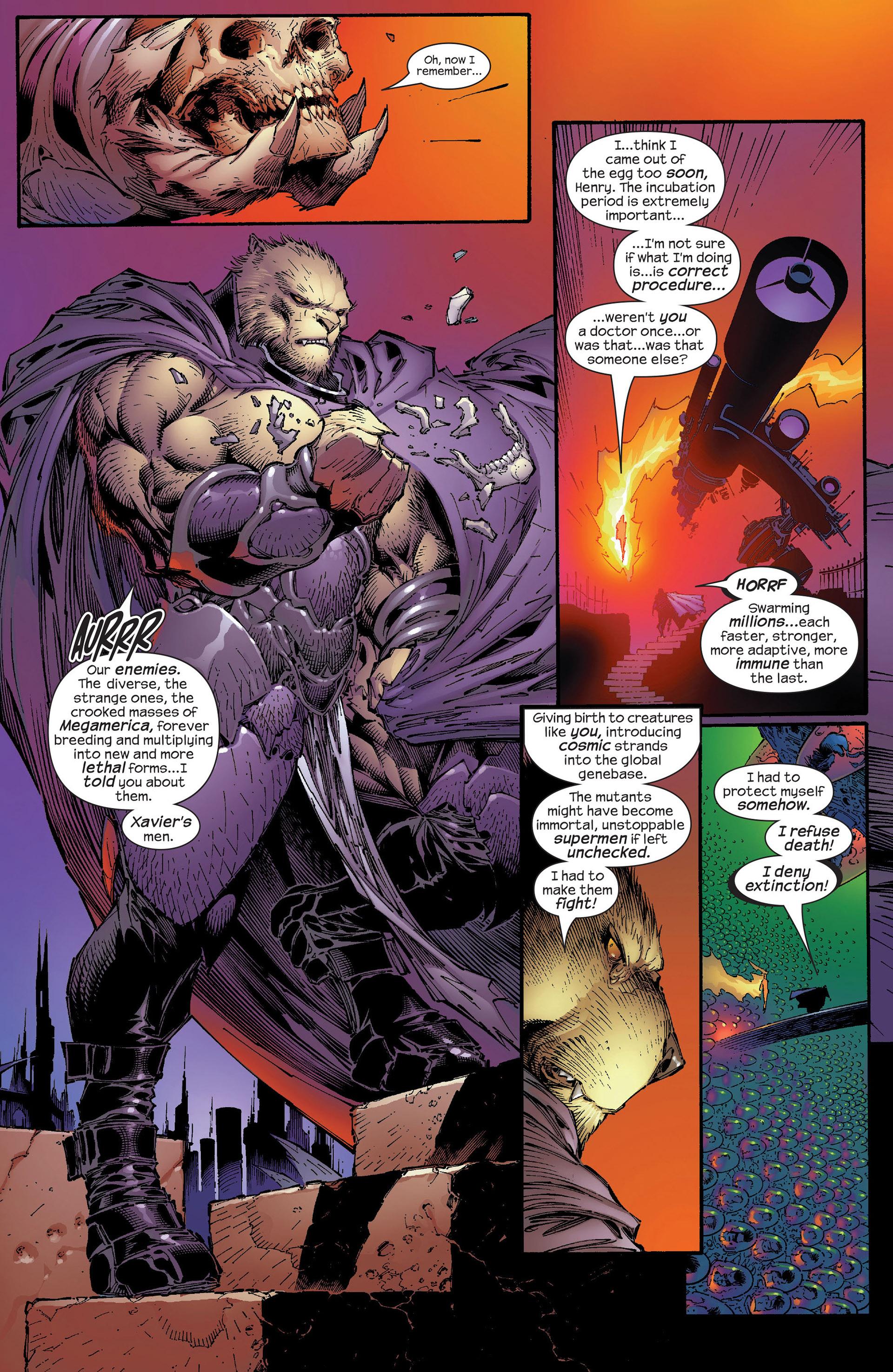Read online New X-Men (2001) comic -  Issue #153 - 11