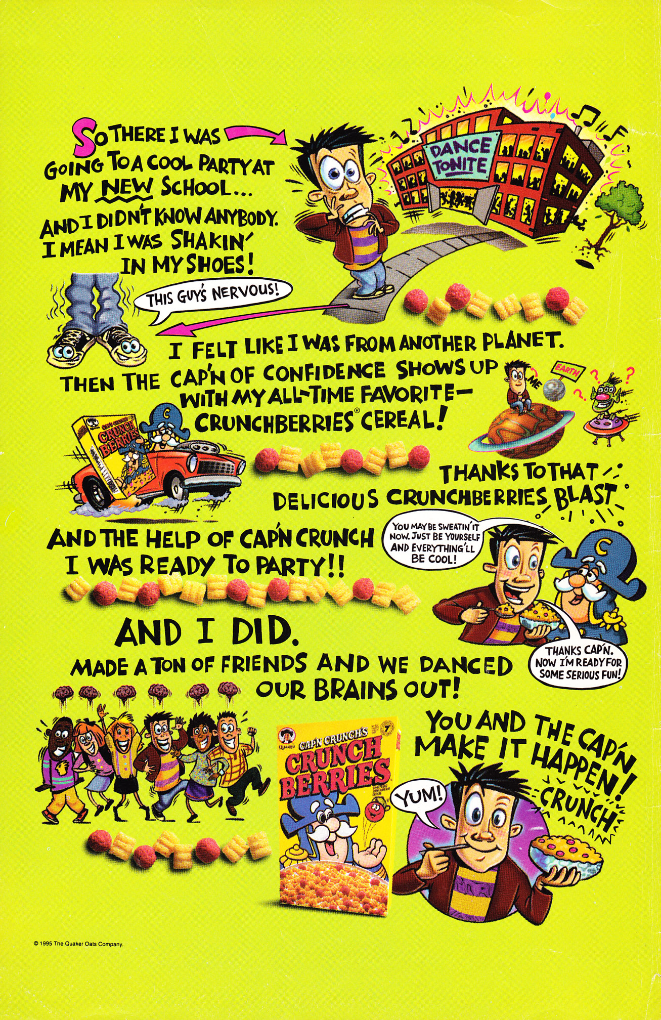Read online Scooby-Doo (1995) comic -  Issue #6 - 2