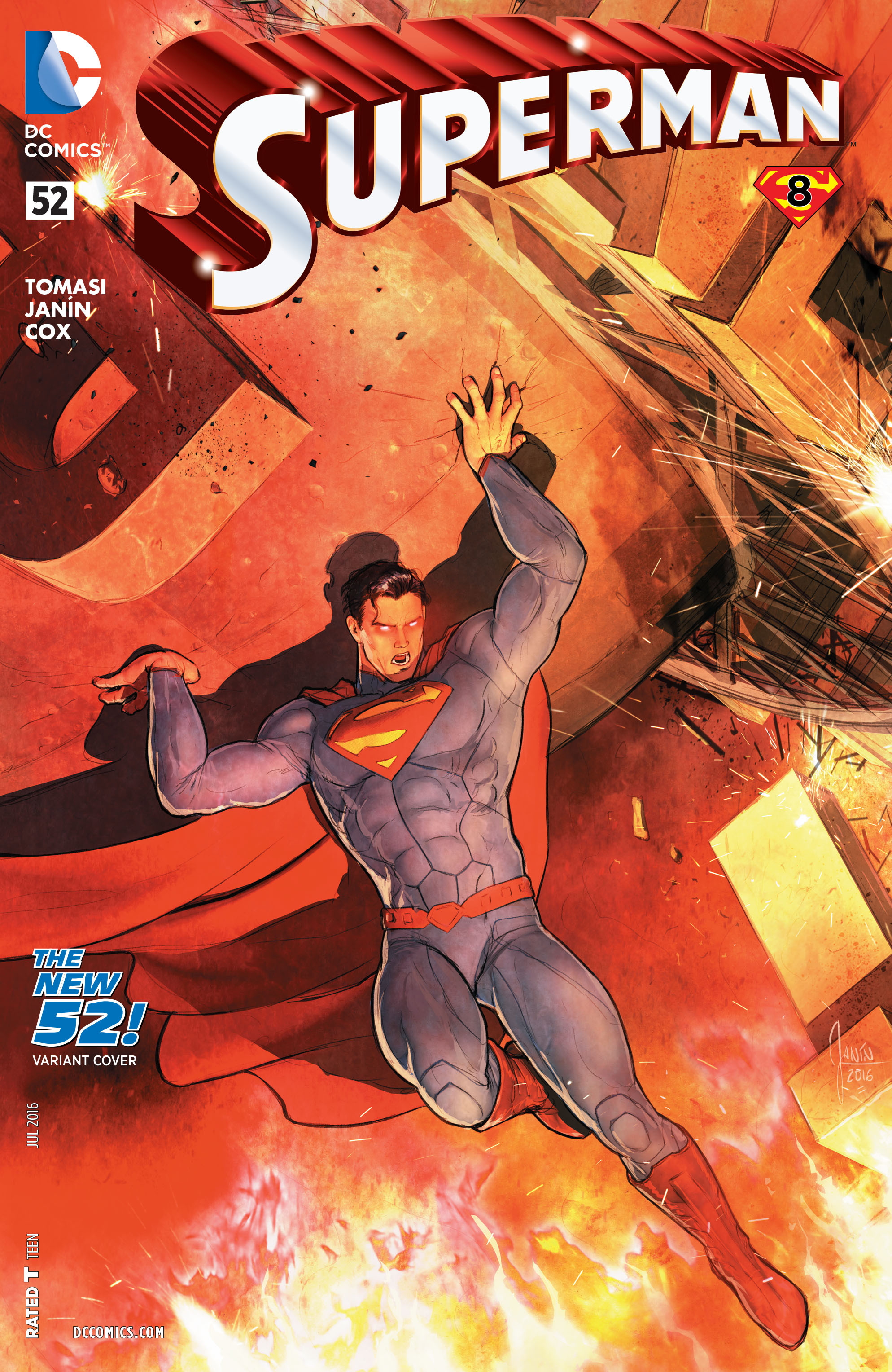 Read online Superman (2011) comic -  Issue #52 - 3