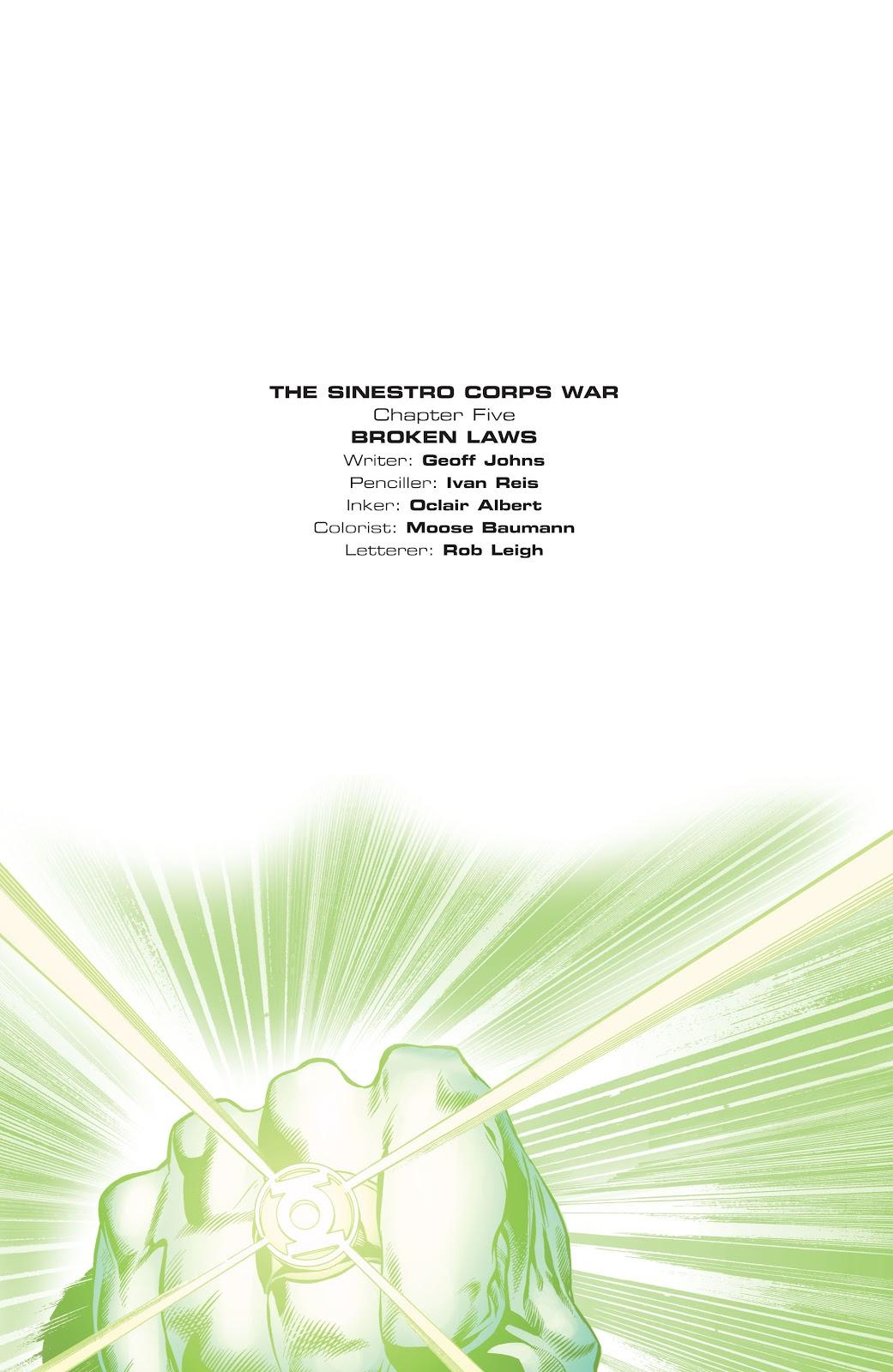 Green Lantern: The Sinestro Corps War Full #1 - English 136