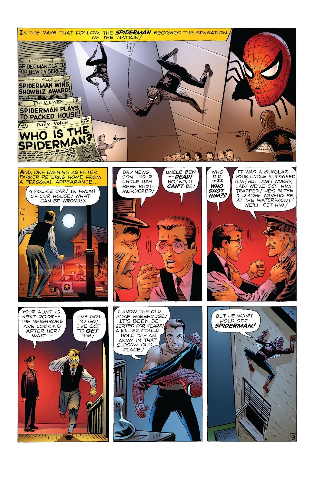 Amazing Fantasy #15: Spider-Man! Full #1 - English 11