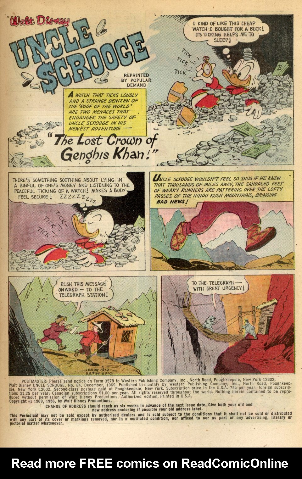 Uncle Scrooge (1953) Issue #84 #84 - English 3
