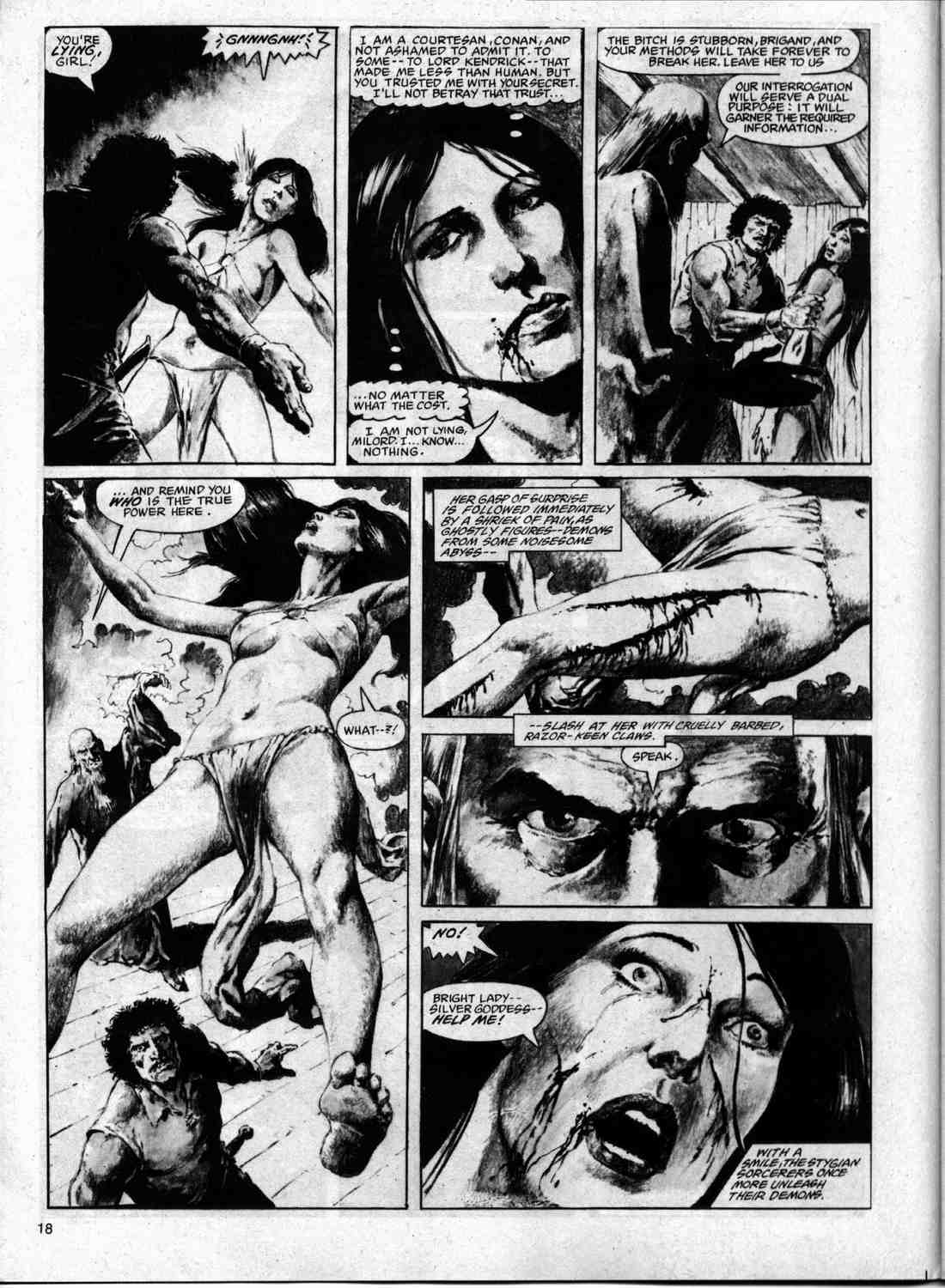 The Savage Sword Of Conan Issue #74 #75 - English 17
