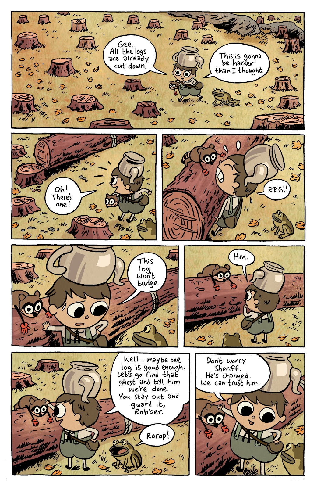 Over the Garden Wall (2016) Issue #4 #4 - English 4