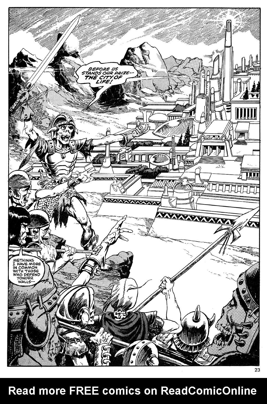 The Savage Sword Of Conan Issue #110 #111 - English 23