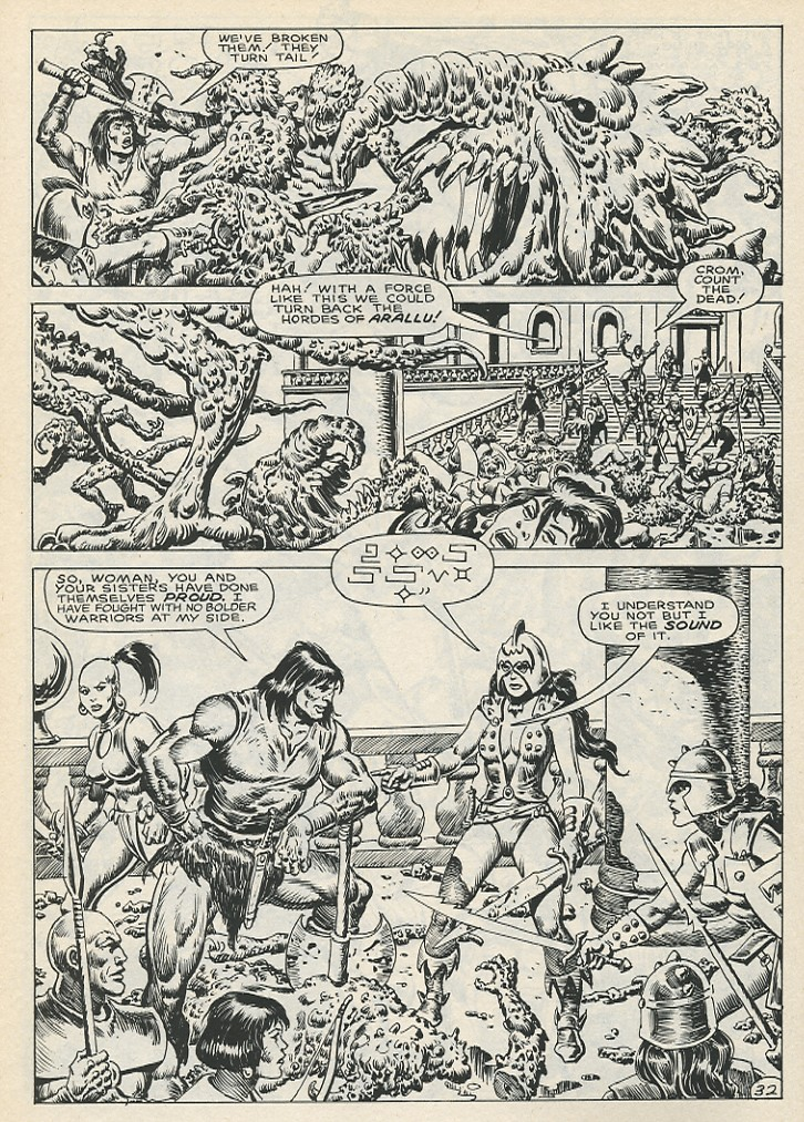 The Savage Sword Of Conan Issue #141 #142 - English 38