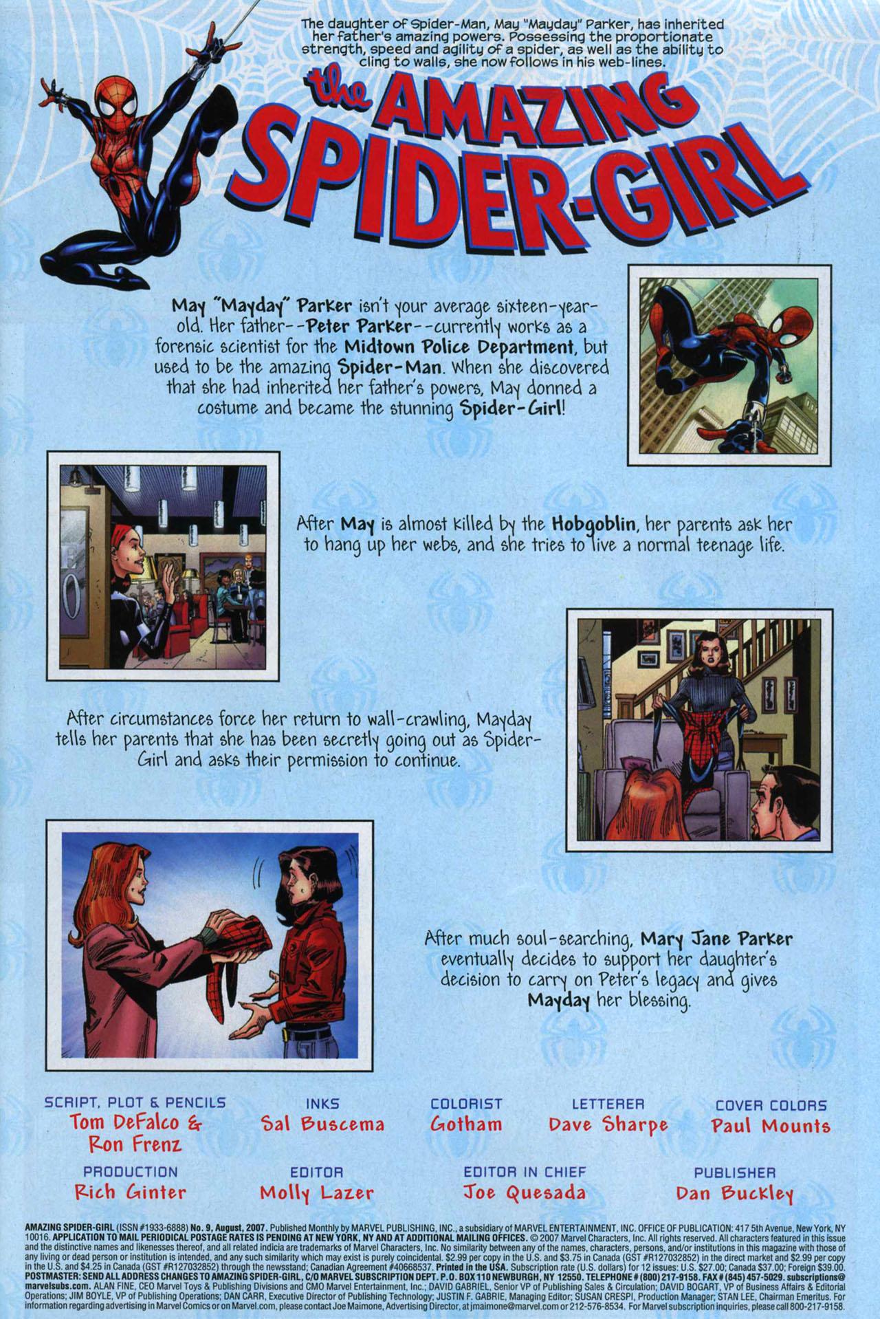 Amazing Spider-Girl #9 #22 - English 2