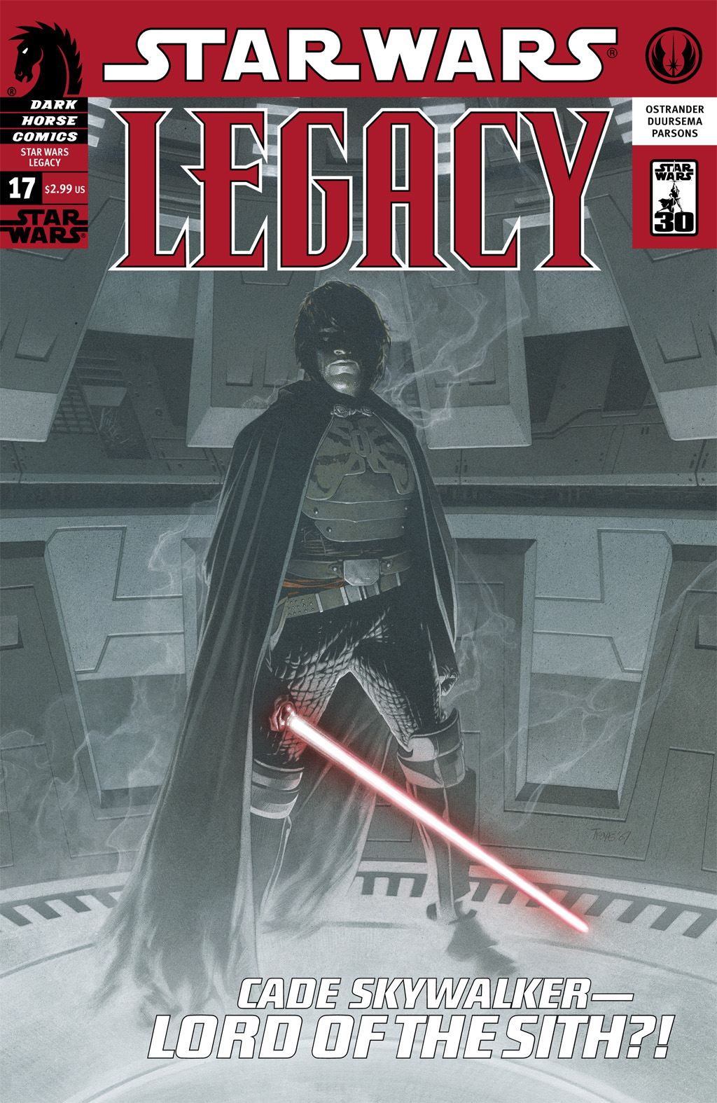 Star Wars: Legacy (2006) issue 17 - Page 1