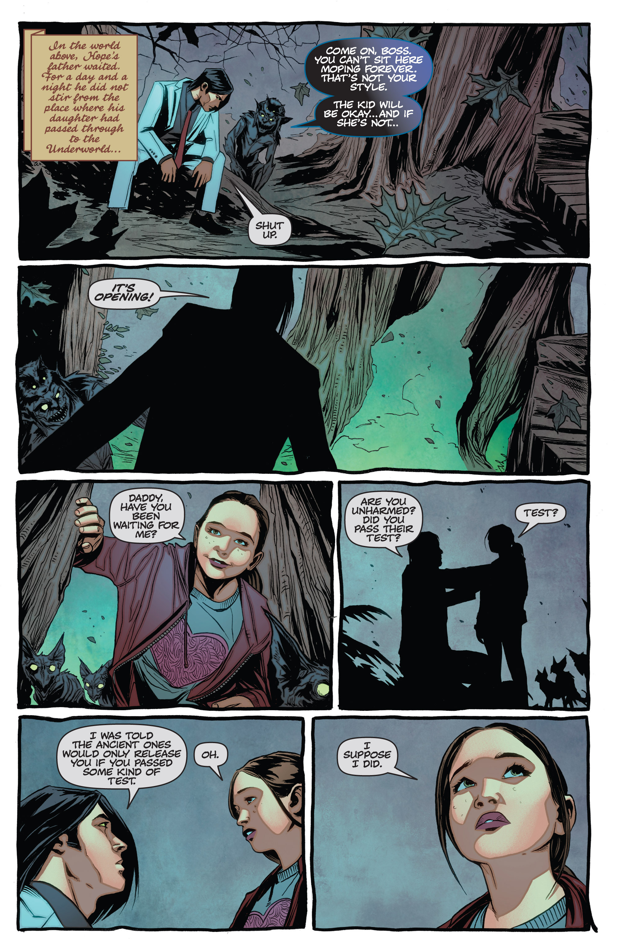 Read online The Darkness (2007) comic -  Issue #113 - 19