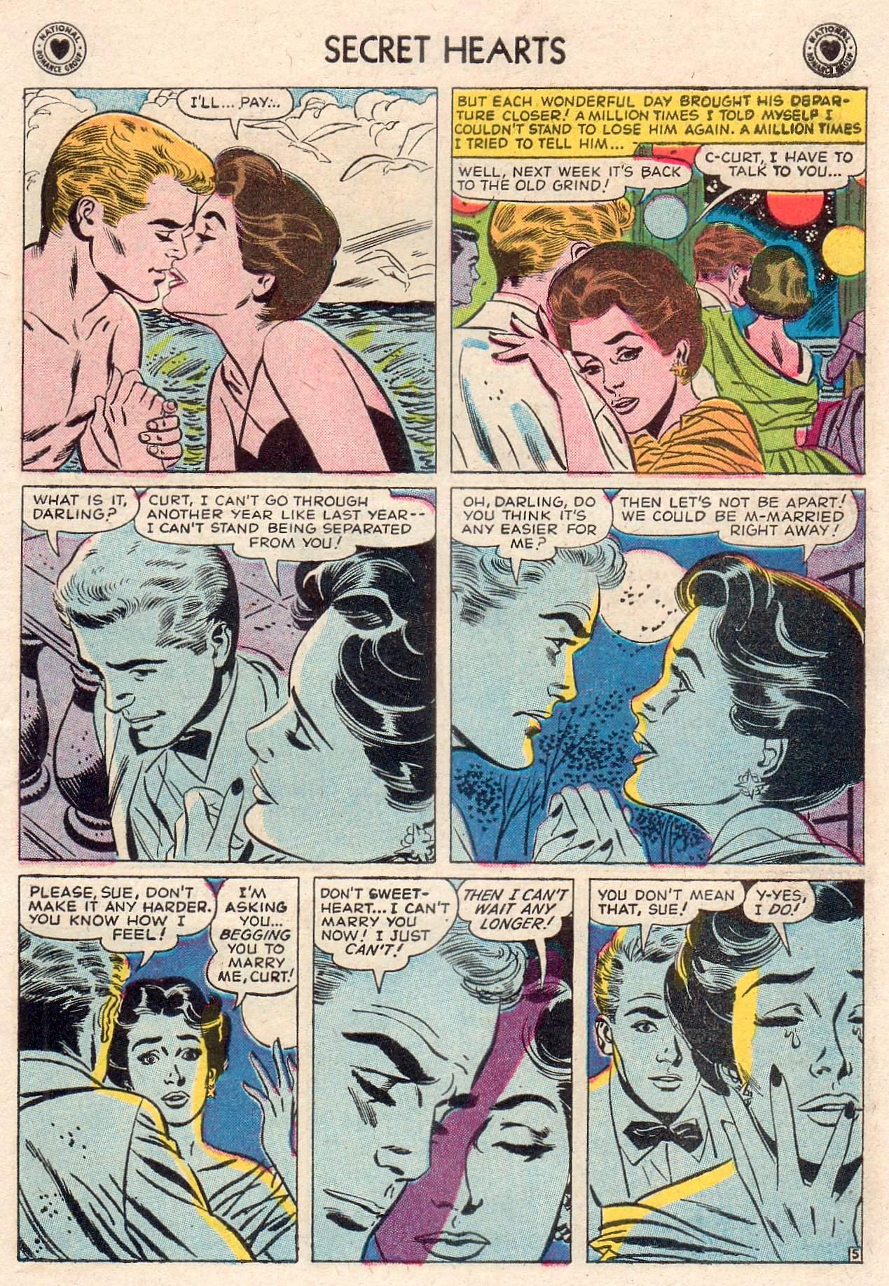 Read online Secret Hearts comic -  Issue #46 - 7