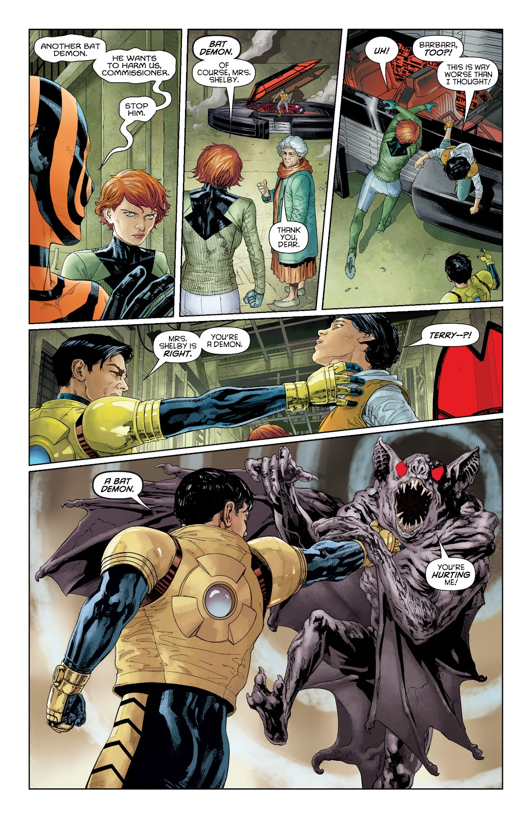 Batman Beyond (2015) Issue #16 #16 - English 8