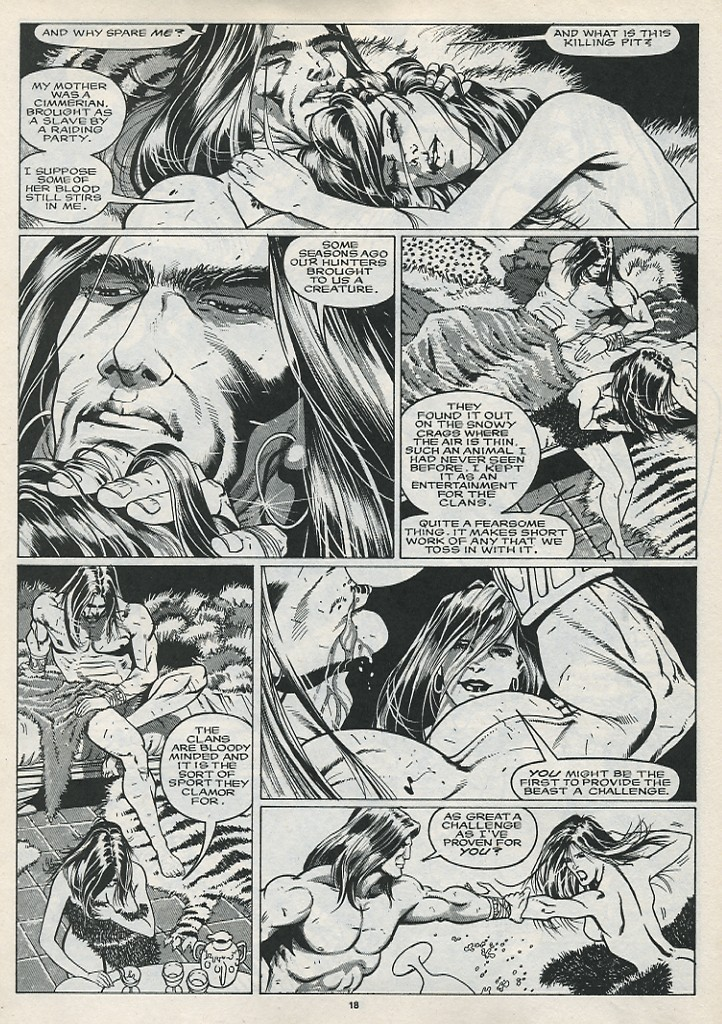The Savage Sword Of Conan Issue #176 #177 - English 20