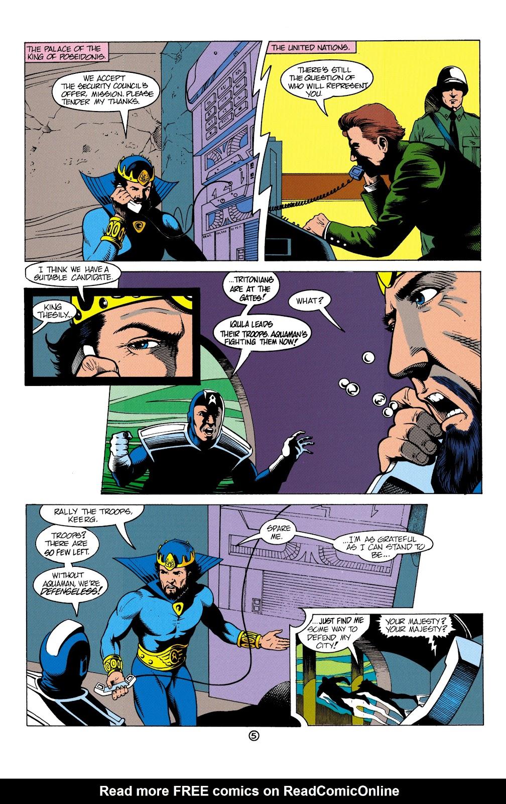 Aquaman (1991) Issue #4 #4 - English 6