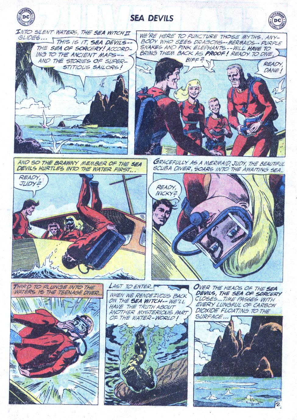 Read online Sea Devils comic -  Issue #4 - 5