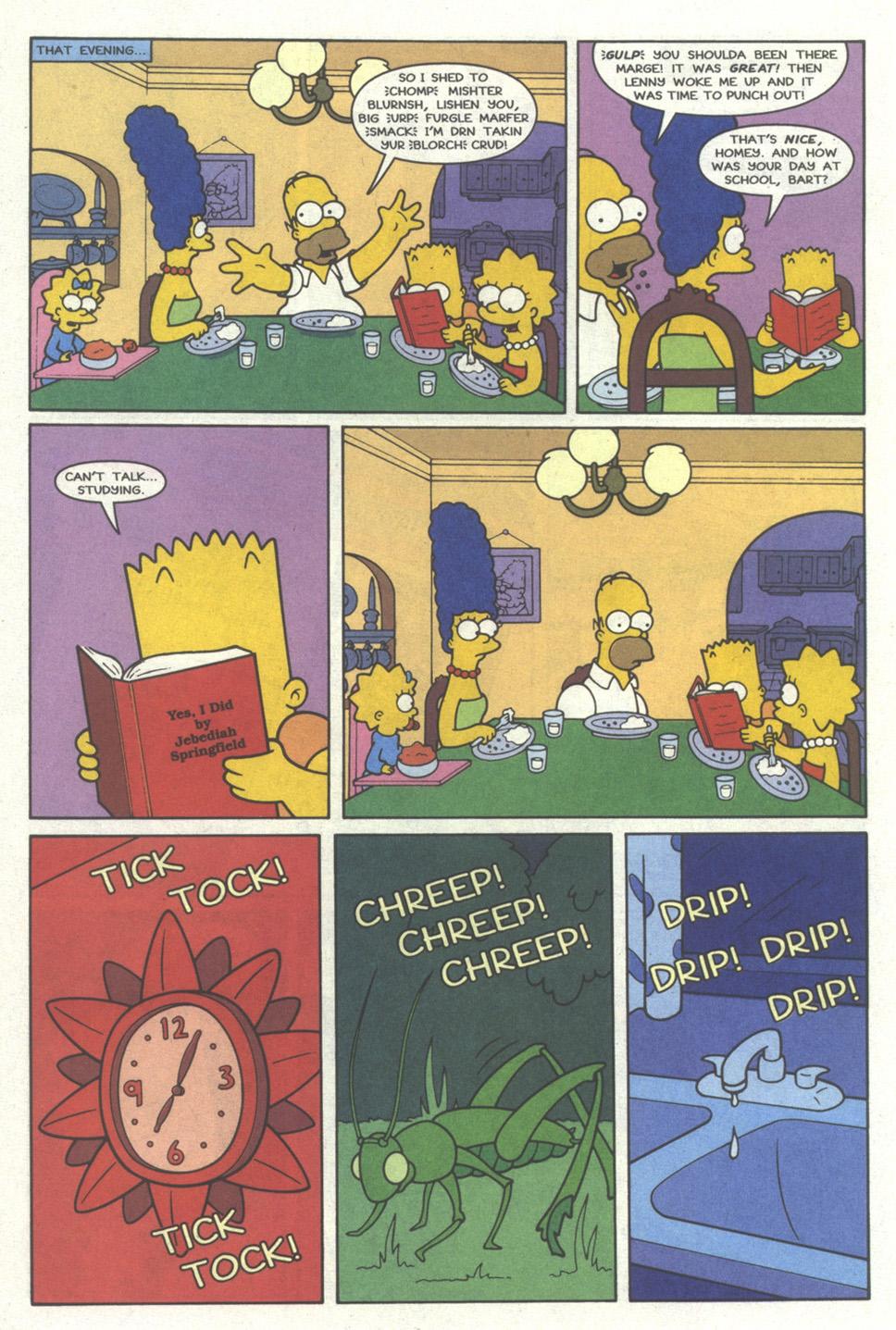 Read online Simpsons Comics comic -  Issue #19 - 7