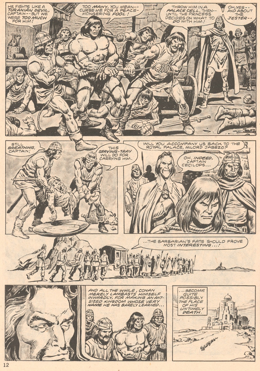 The Savage Sword Of Conan Issue #66 #67 - English 12