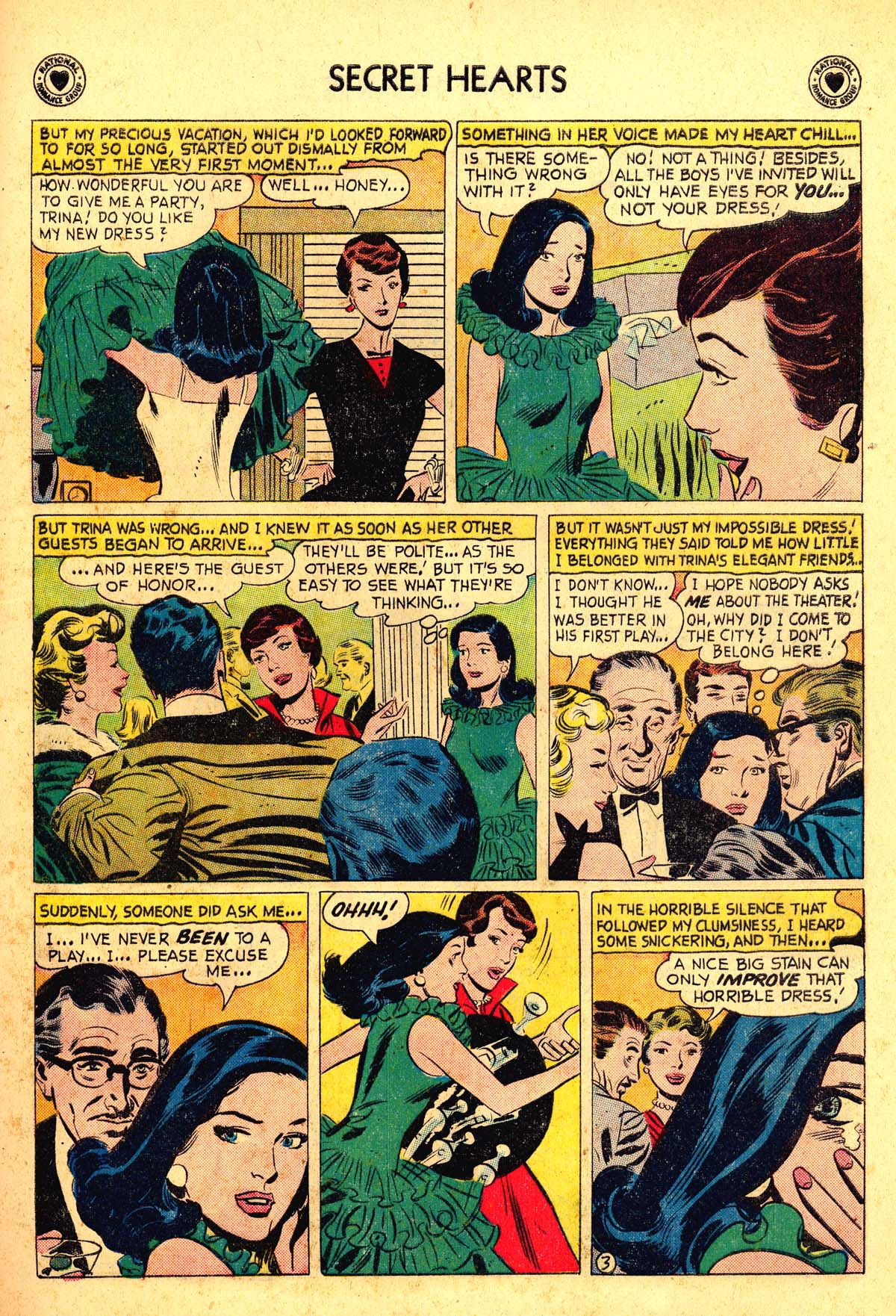 Read online Secret Hearts comic -  Issue #54 - 21