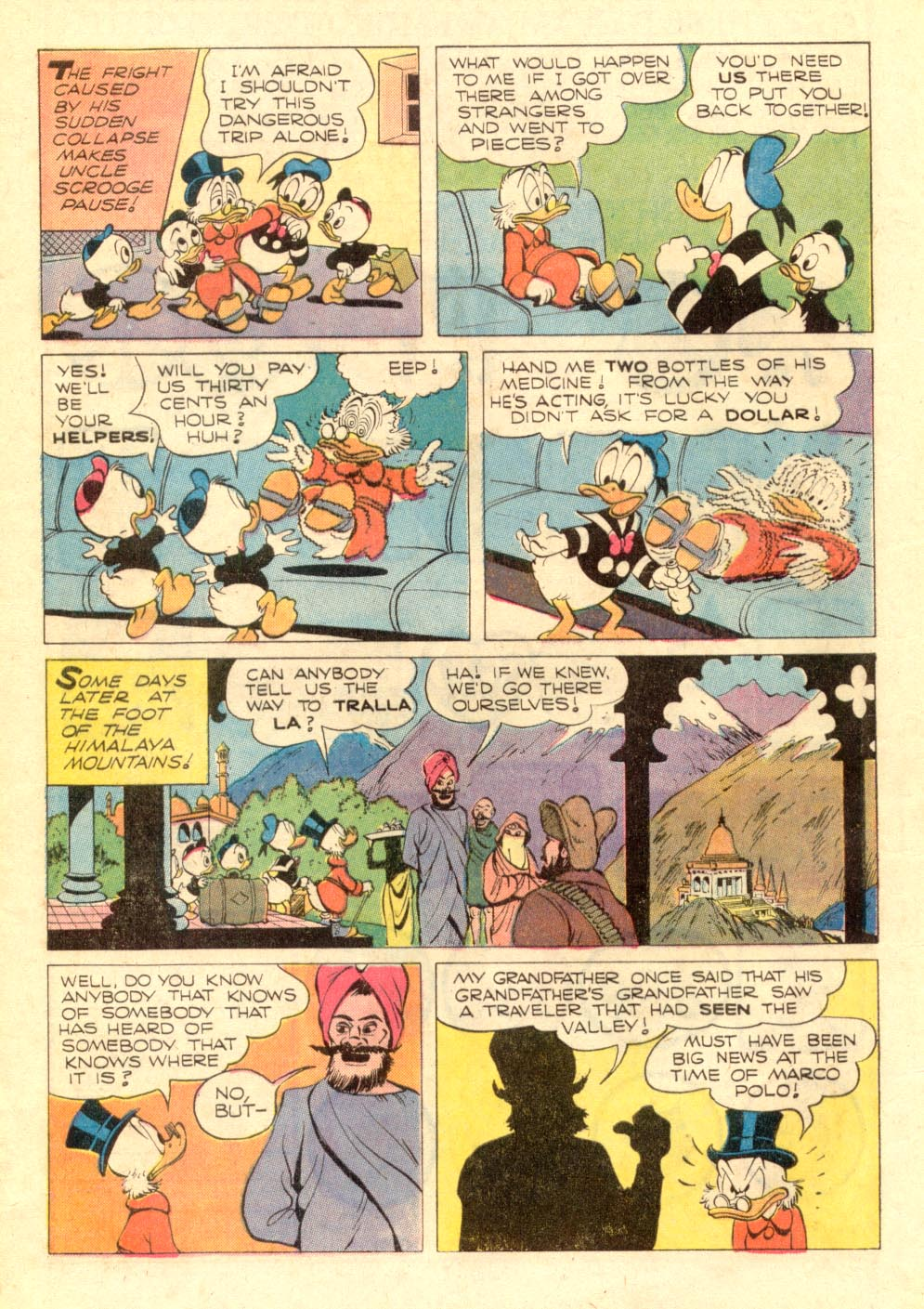 Uncle Scrooge (1953) Issue #106 #106 - English 8