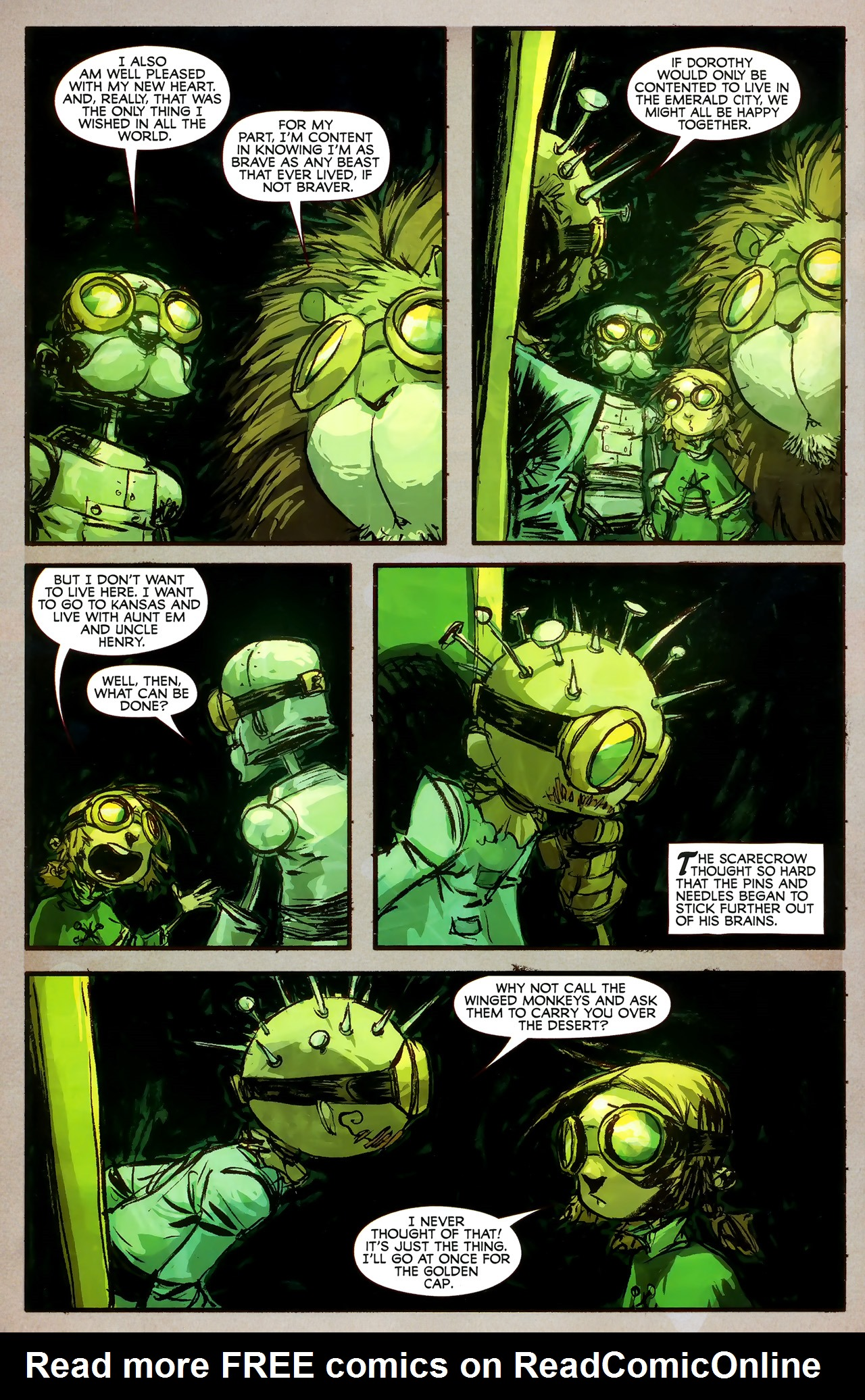 Read online The Wonderful Wizard of Oz comic -  Issue #7 - 15