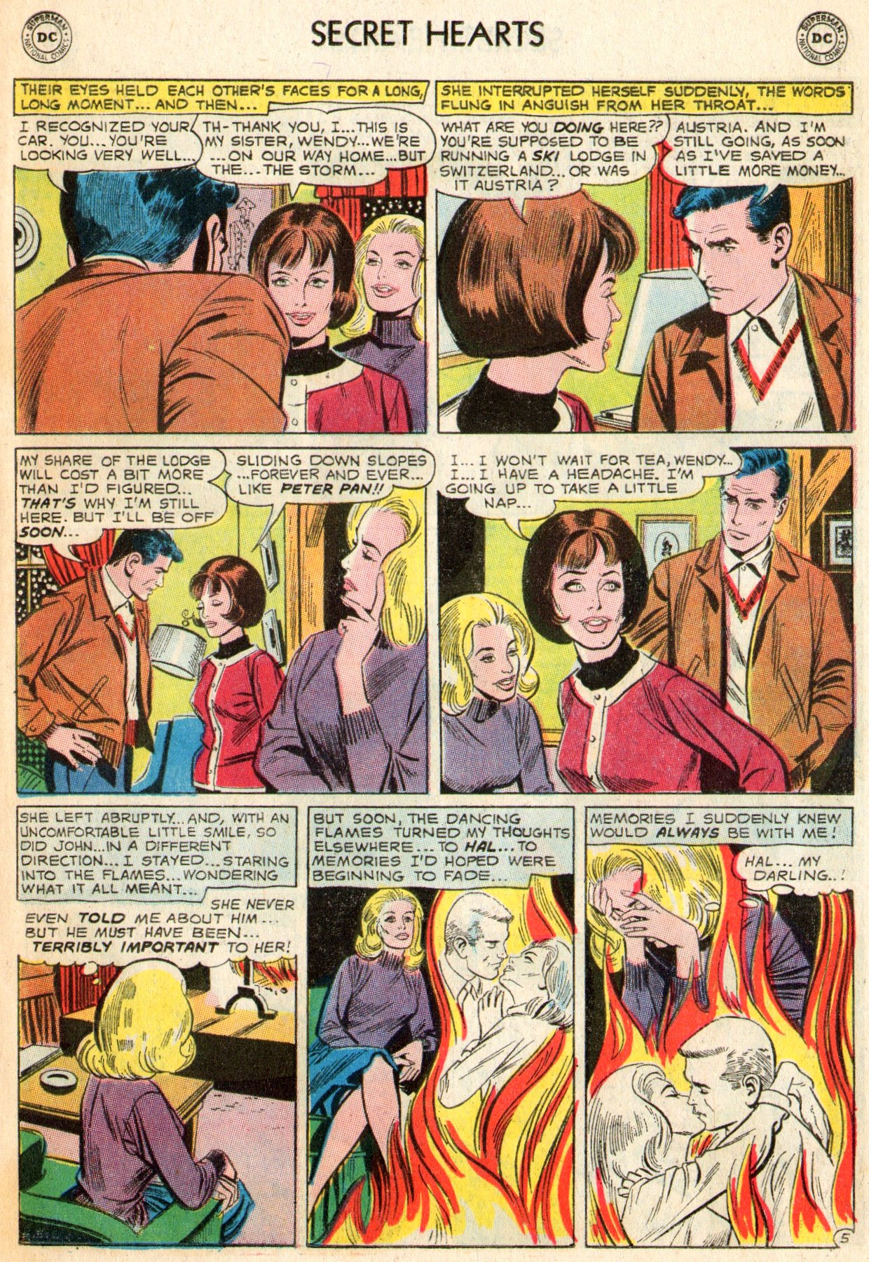 Read online Secret Hearts comic -  Issue #103 - 15