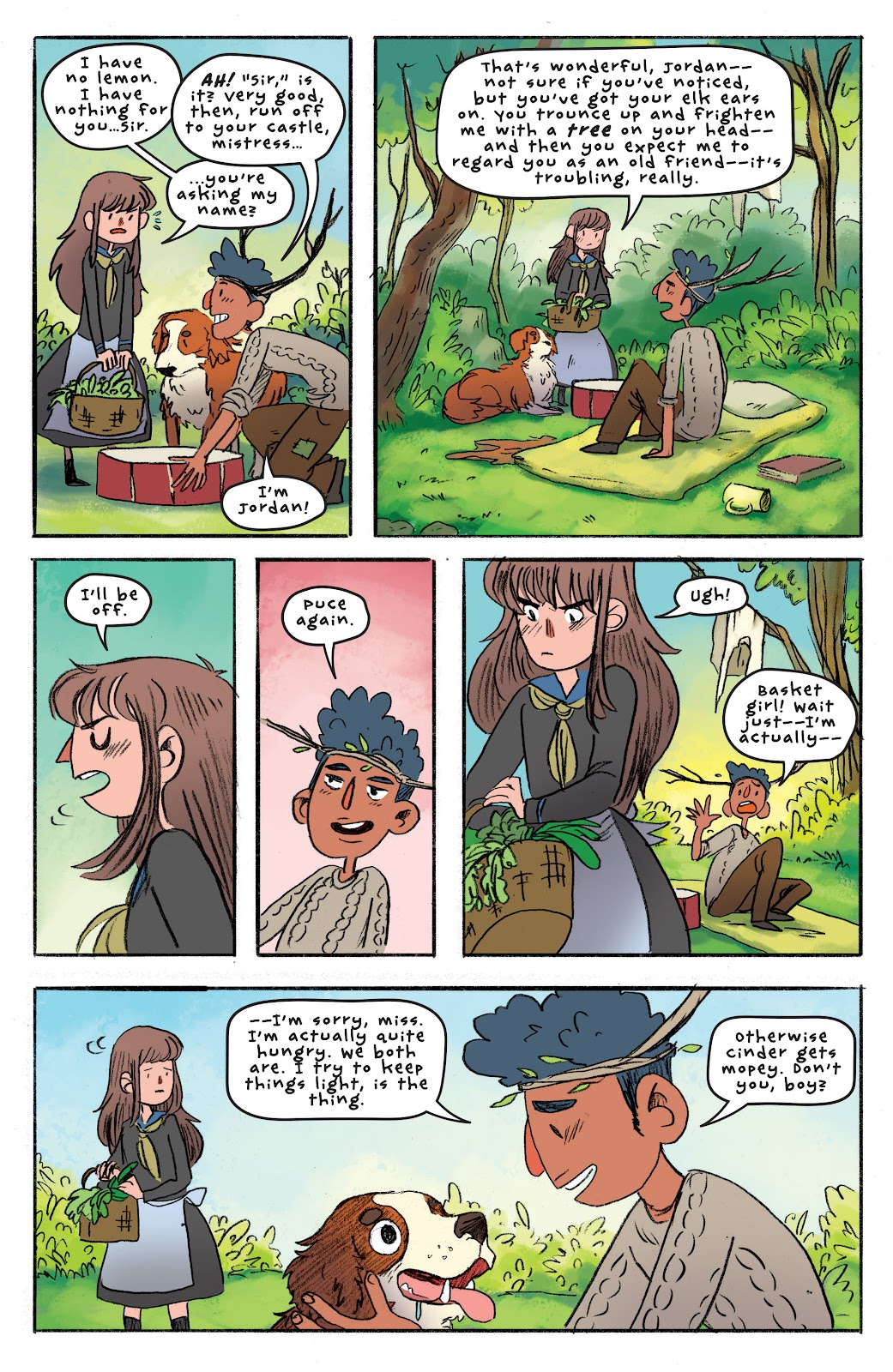 Over the Garden Wall (2016) Issue #4 #4 - English 16