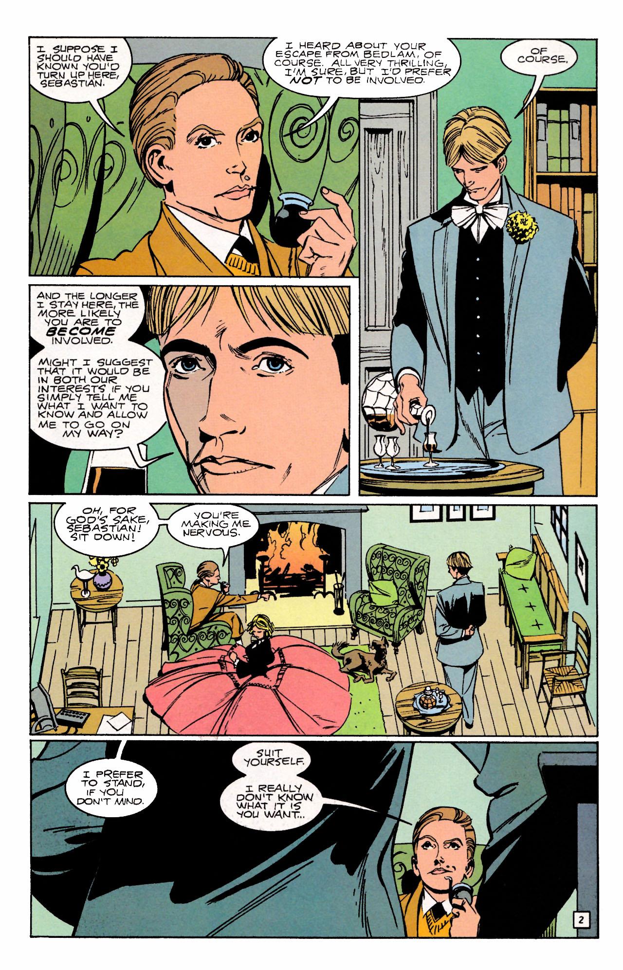 Read online Sebastian O comic -  Issue #3 - 4
