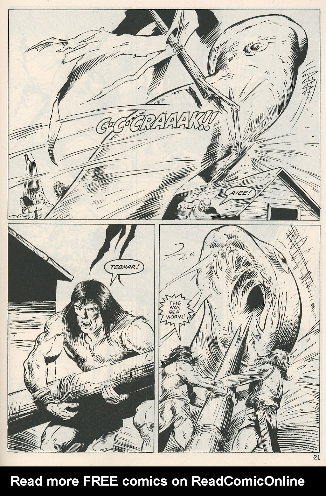 The Savage Sword Of Conan Issue #115 #116 - English 21
