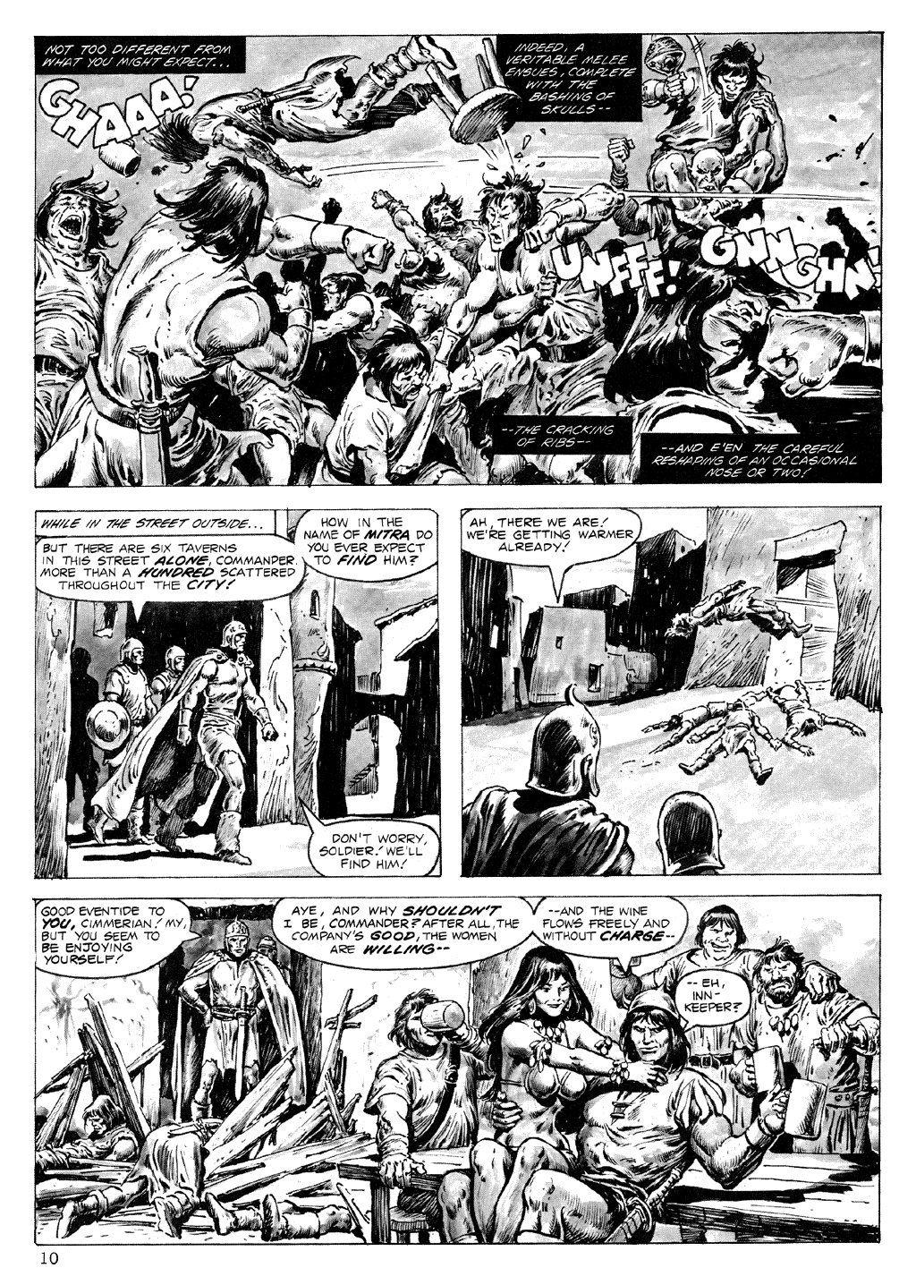 The Savage Sword Of Conan Issue #71 #72 - English 10