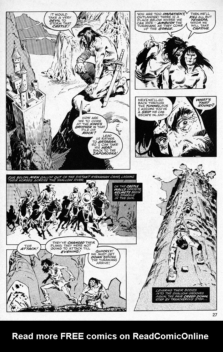 The Savage Sword Of Conan Issue #38 #39 - English 27