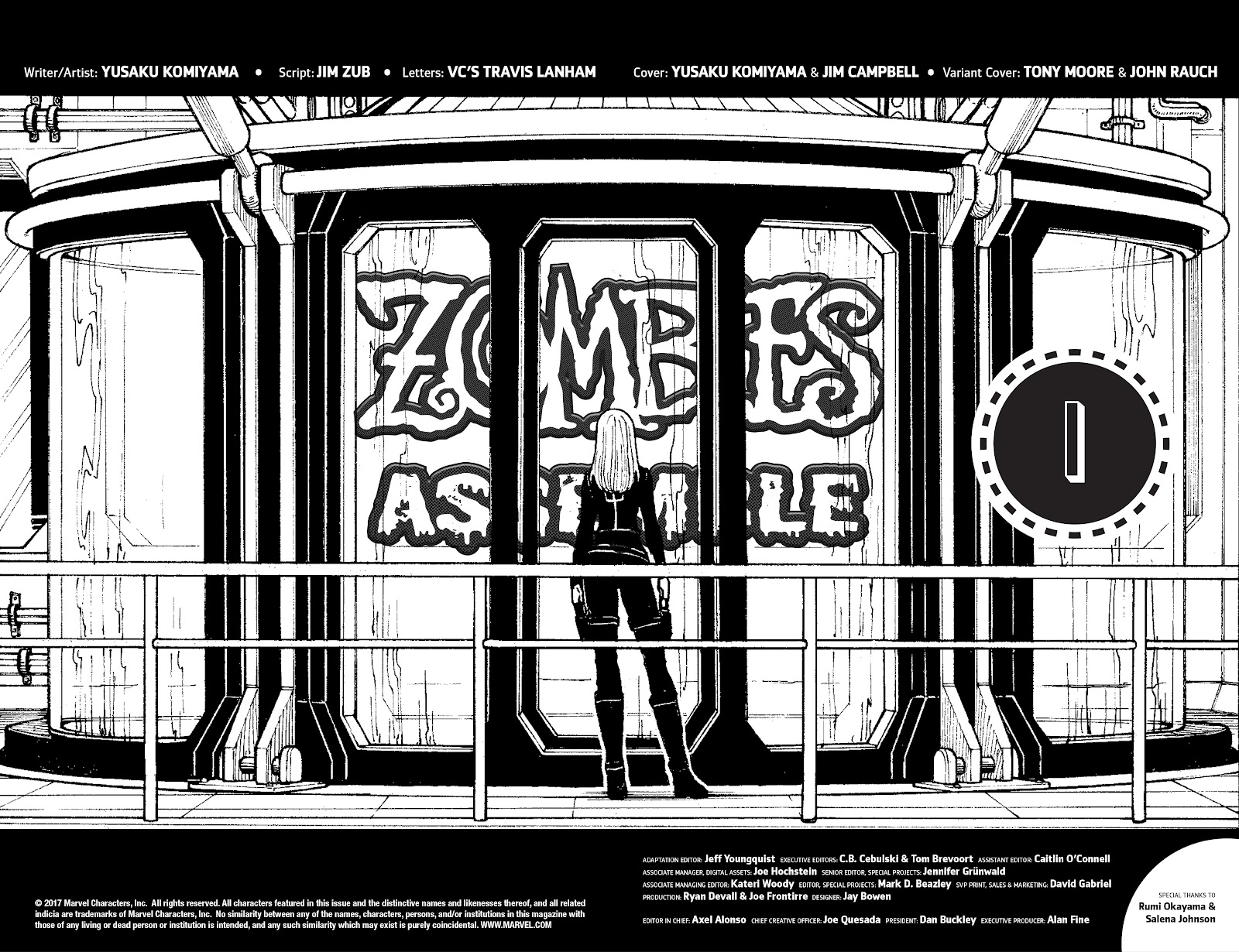 Zombies Assemble Issue #1 Page 4