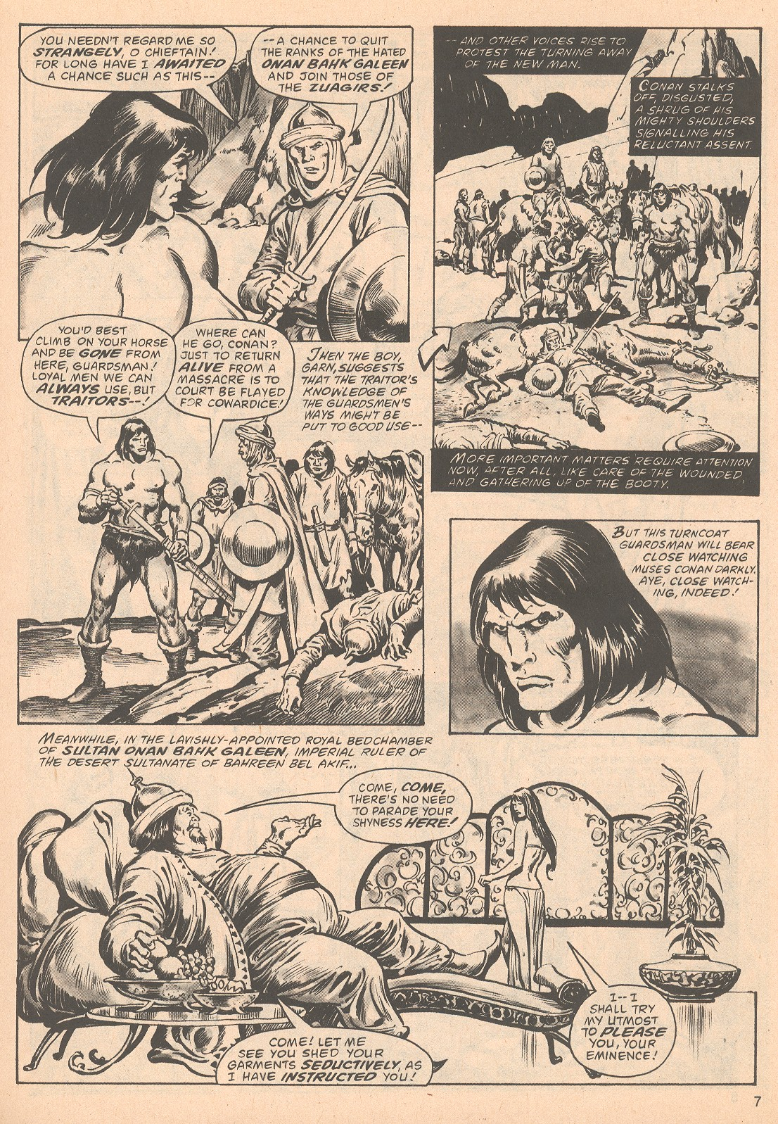 The Savage Sword Of Conan Issue #63 #64 - English 7