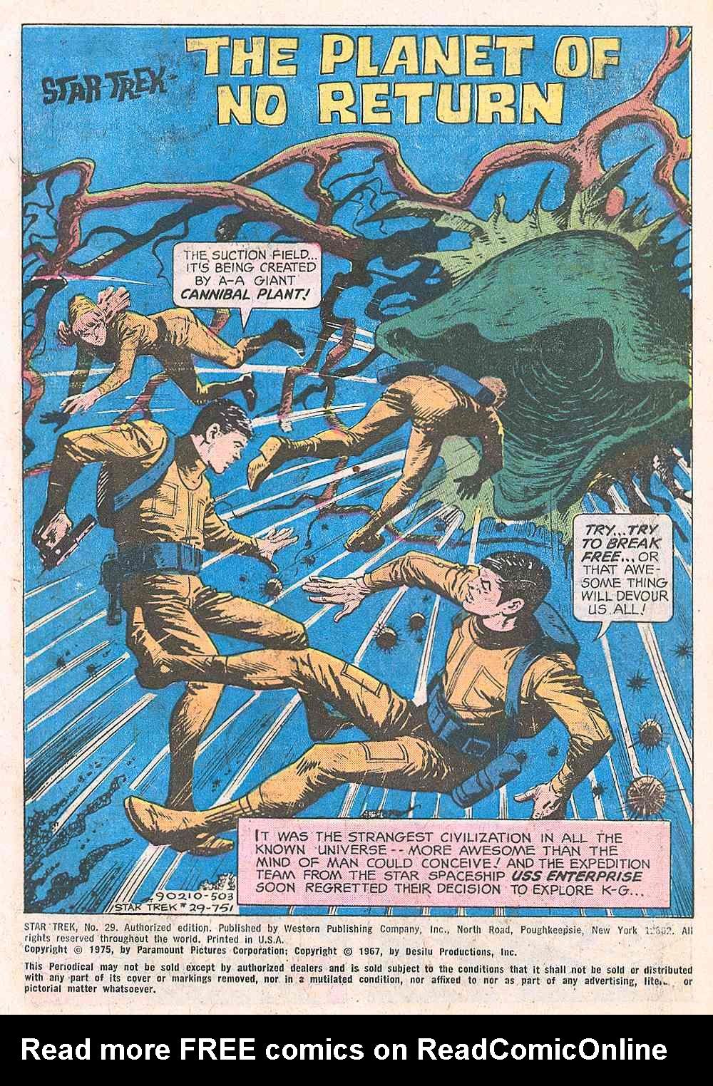 Star Trek (1967) Issue #29 #29 - English 2