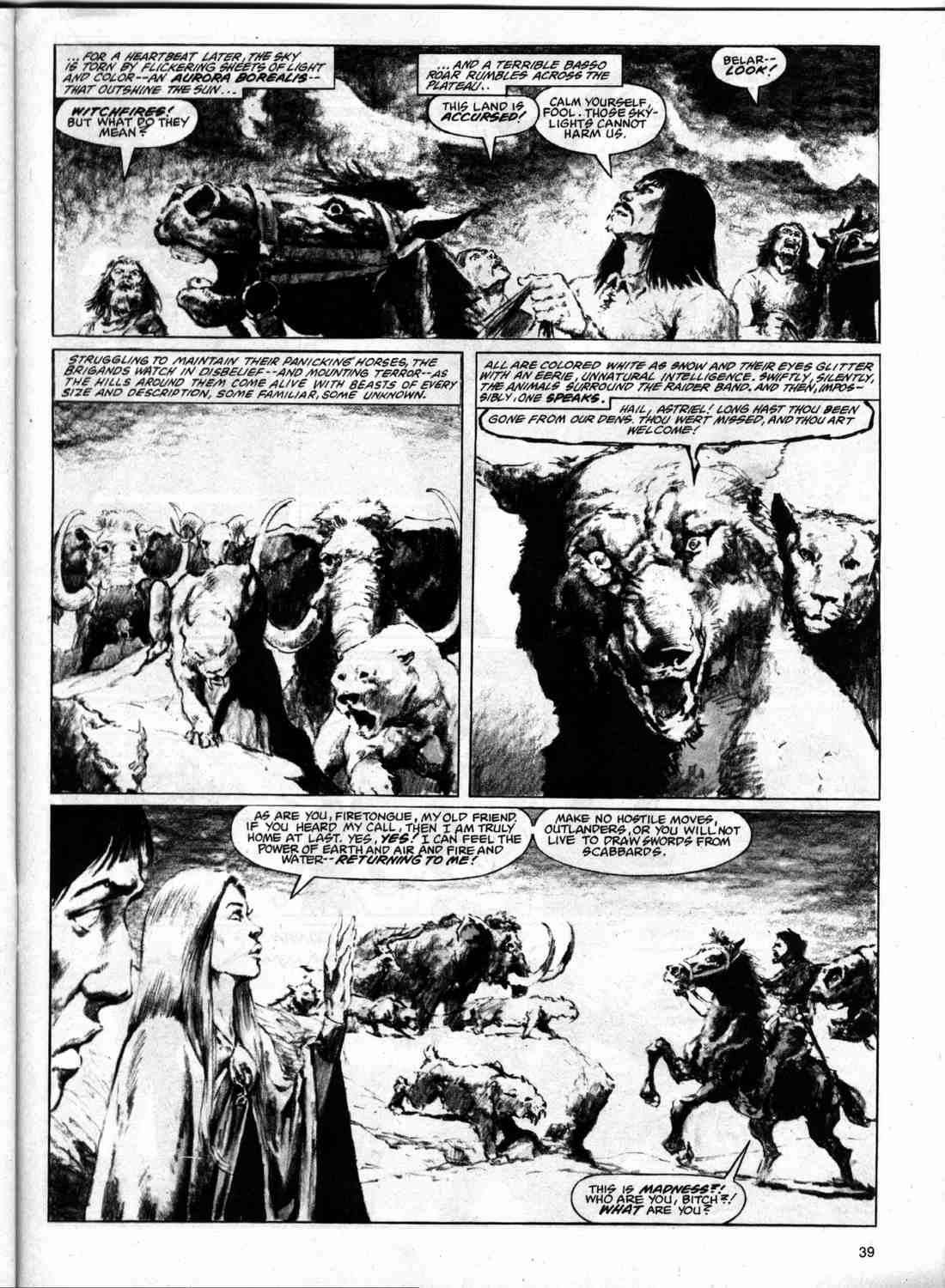 The Savage Sword Of Conan Issue #74 #75 - English 38