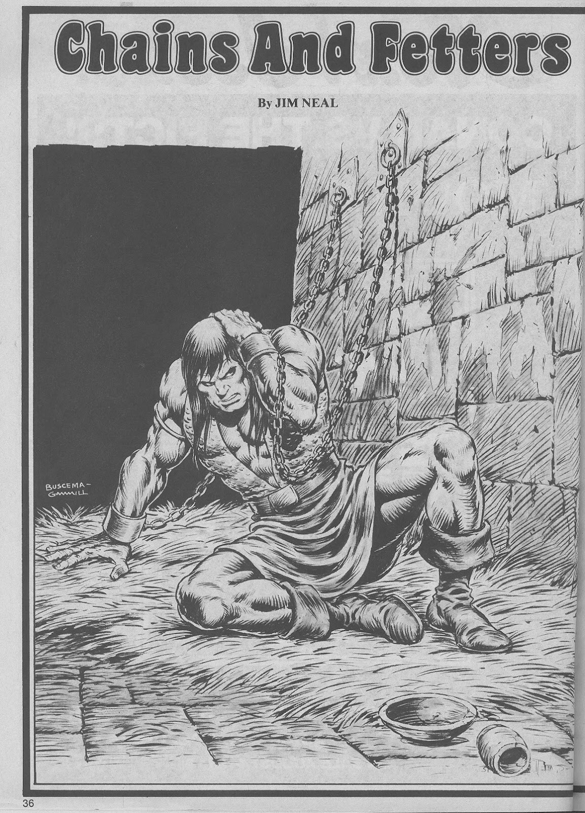 The Savage Sword Of Conan Issue #45 #46 - English 36