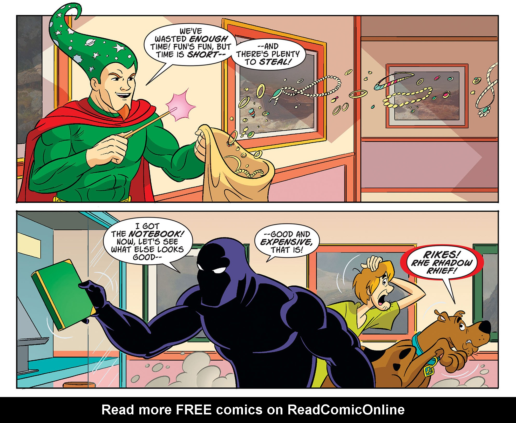 Read online Scooby-Doo! Team-Up comic -  Issue #34 - 12
