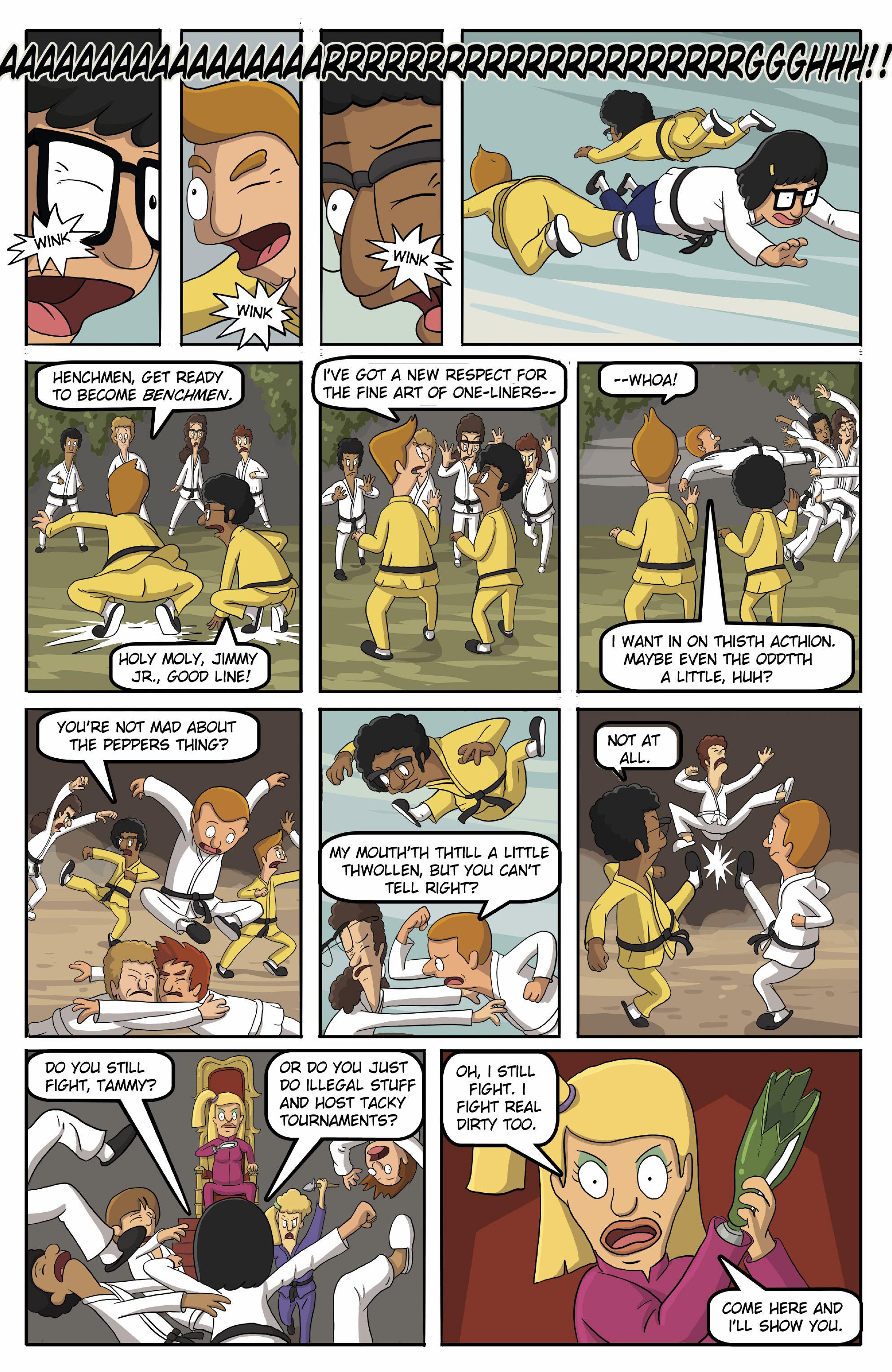 Read online Bob's Burgers (2015) comic -  Issue #13 - 19