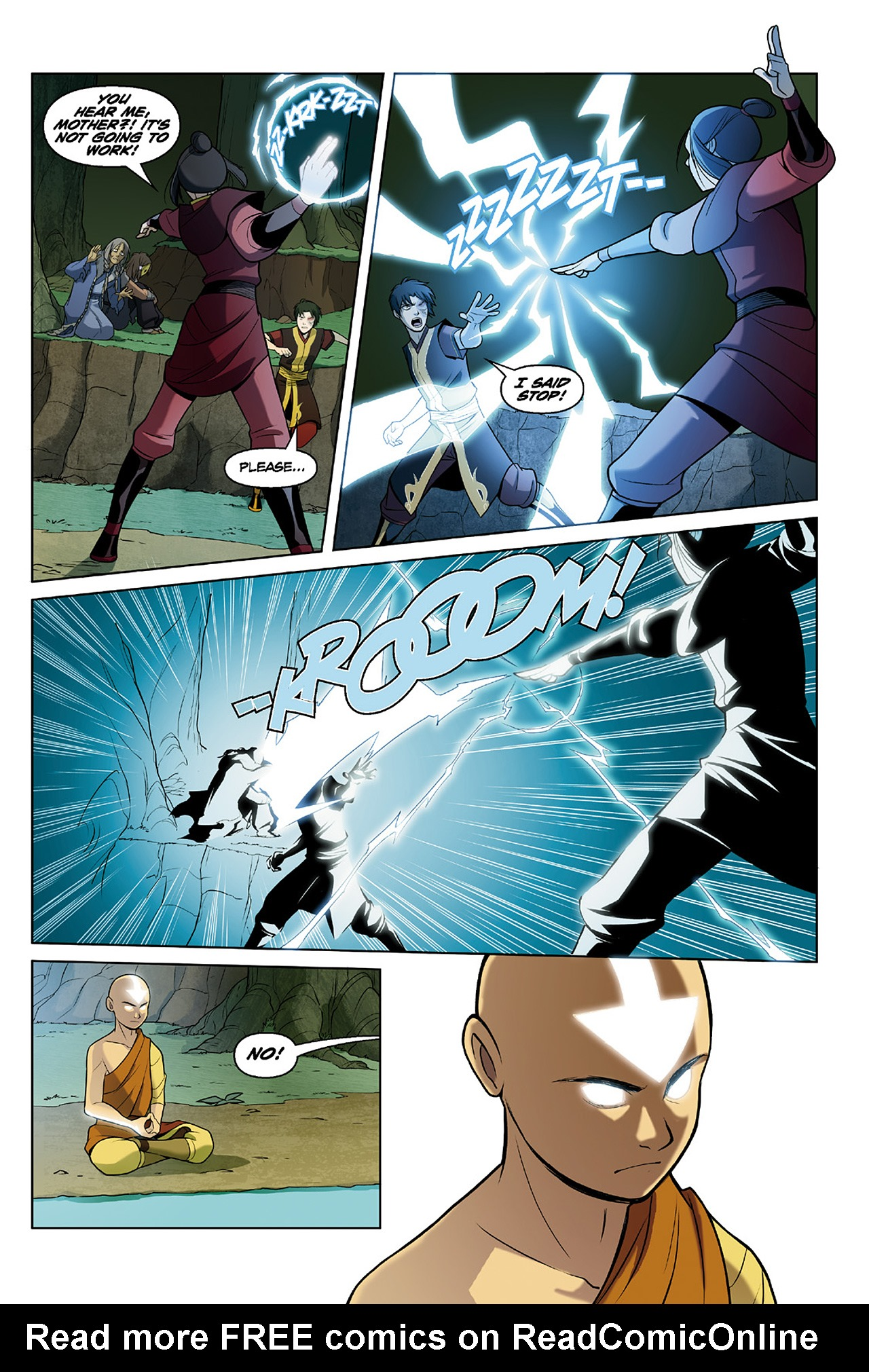 Read online Nickelodeon Avatar: The Last Airbender - The Search comic -  Issue # Part 2 - 71