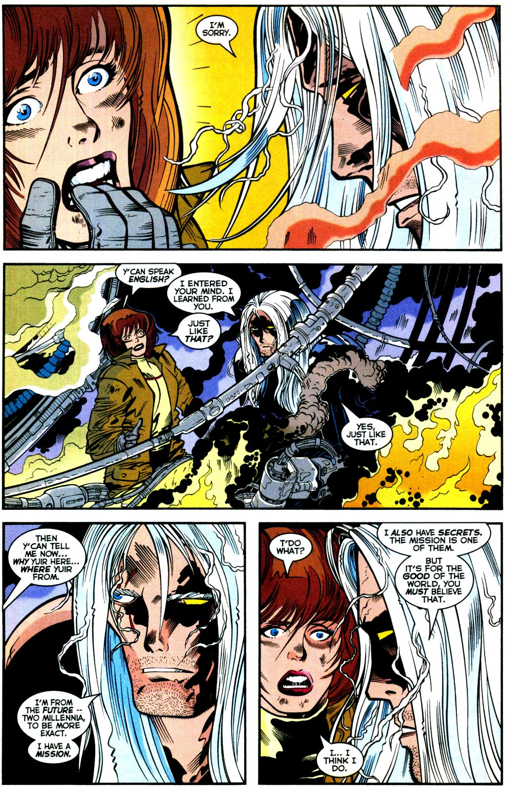 Cable (1993) #-1 #109 - English 20