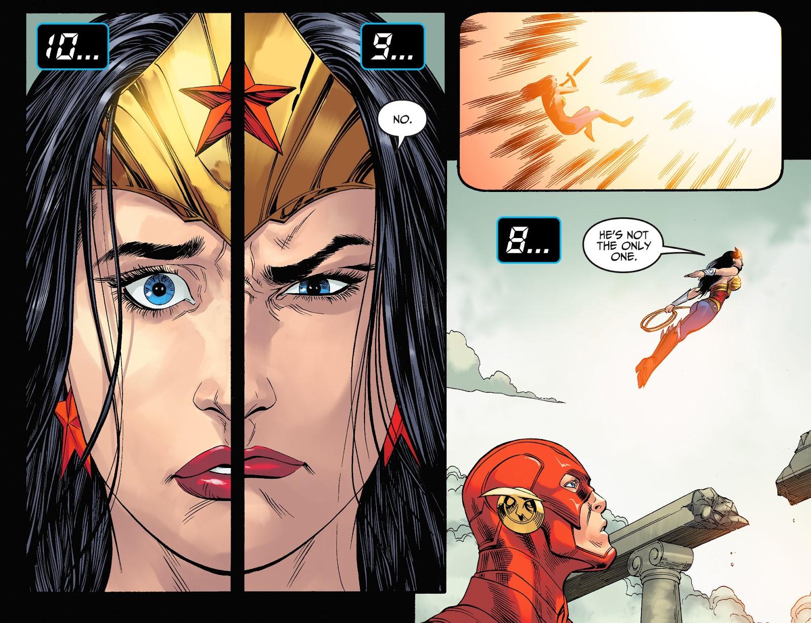 Injustice: Gods Among Us Year Four Issue #23 #24 - English 16